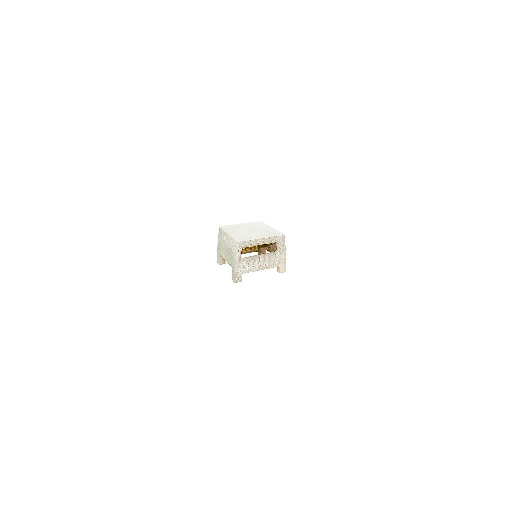 Стол Ротанг, квадратный, Alternativa, слоновая костьМебель<br>Стол Ротанг 570х515х420, Alternativa (Альтернатива), слоновая кость<br><br>Характеристики:<br><br>• подходит в качестве журнального столика<br>• приятный дизайн<br>• материал: пластик<br>• размер стола: 57х51,5х42 см<br>• вес: 3,38 кг<br>• цвет: слоновая кость<br><br>Стол Ротанг от российского производителя Альтернатива прекрасно подойдет в качестве домашнего журнального столика или для полноценного отдыха на природе. Широкие ножки обеспечивают столику хорошую устойчивость на поверхностях. Лаконичный дизайн стола хорошо впишется в интерьер любого помещения.<br><br>Стол Ротанг 570х515х420, Alternativa (Альтернатива), слоновая кость можно купить в нашем интернет-магазине.<br><br>Ширина мм: 570<br>Глубина мм: 515<br>Высота мм: 420<br>Вес г: 3300<br>Возраст от месяцев: 12<br>Возраст до месяцев: 1188<br>Пол: Унисекс<br>Возраст: Детский<br>SKU: 5436207