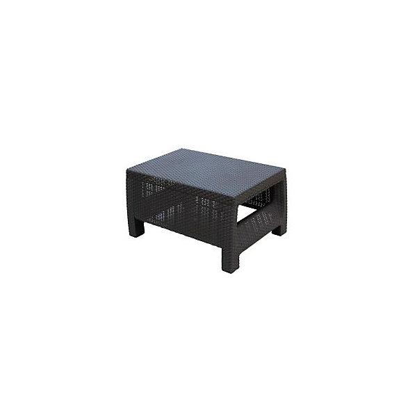 Стол Ротанг, прямоугольный, Alternativa, коричневыйДетские столы и стулья<br>Стол Ротанг 765х570х420, Alternativa (Альтернатива), коричневый<br><br>Характеристики:<br><br>• подходит в качестве журнального столика<br>• приятный дизайн<br>• материал: пластик<br>• размер стола: 76,5х57х42 см<br>• вес: 3,38 кг<br>• цвет: коричневый<br><br>Универсальный стол Ротанг отлично подойдет в качестве журнального столика, подставки или стола для отдыха на природе. Лаконичный дизайн прекрасно подходит к любому интерьеру. Широкие ножки гарантируют столу устойчивость на любой поверхности. Стол Ротанг изготовлен из качественного пластика с высокой прочностью.<br><br>Стол Ротанг 765х570х420, Alternativa (Альтернатива), коричневый вы можете купить в нашем интернет-магазине.<br><br>Ширина мм: 765<br>Глубина мм: 570<br>Высота мм: 420<br>Вес г: 4100<br>Возраст от месяцев: 12<br>Возраст до месяцев: 1188<br>Пол: Унисекс<br>Возраст: Детский<br>SKU: 5436208