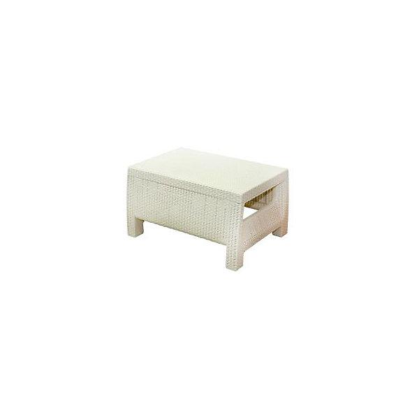 Стол Ротанг, прямоугольный, Alternativa, слоновая костьДетские столы и стулья<br>Стол Ротанг 765х570х420, Alternativa (Альтернатива), слоновая кость<br><br>Характеристики:<br><br>• подходит в качестве журнального столика<br>• приятный дизайн<br>• материал: пластик<br>• размер стола: 76,5х57х42 см<br>• вес: 3,38 кг<br>• цвет: слоновая кость<br><br>Универсальный стол Ротанг отлично подойдет в качестве журнального столика, подставки или стола для отдыха на природе. Лаконичный дизайн прекрасно подходит к любому интерьеру. Широкие ножки гарантируют столу устойчивость на любой поверхности. Стол Ротанг изготовлен из качественного пластика с высокой прочностью.<br><br>Стол Ротанг 765х570х420, Alternativa (Альтернатива), слоновая кость вы можете купить в нашем интернет-магазине.<br>Ширина мм: 765; Глубина мм: 570; Высота мм: 420; Вес г: 4100; Возраст от месяцев: 12; Возраст до месяцев: 1188; Пол: Унисекс; Возраст: Детский; SKU: 5436209;