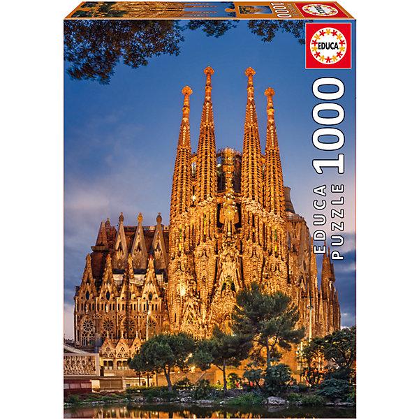 Купить Пазл Саграда Фамилия , 1000 деталей, Educa, Испания, Унисекс