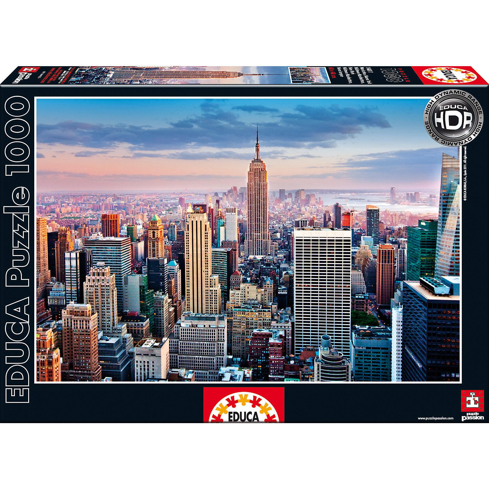 Пазл Манхеттен, Нью-Йорк, 1000 деталей, EducaПазл Манхеттен, Нью-Йорк, 1000 деталей, Educa (Эдука).<br><br>Характеристики:<br><br>• Размер упаковки: 370х270х55 мм.<br>• Вес: 768г.<br>• Тип : пазл-мозаика.<br>• Возраст: с 11лет.<br>• 1000 деталей.<br>• Размер собранной картинки: 48 х 68 см.<br>• ISBN: 8412668148116<br>• Материал: картон.<br><br>Пазл Манхеттен, Нью-Йорк, 1000 деталей, Educa(Эдука) это великолепный подарок, как для ребенка, так и для взрослого. Большой увлекательный пазл объединит всю семью за интересным занятием, отвлечет от повседневных дел, обучит терпению и внимательности. Пазлы Educa(Эдука)– это не только яркие, интересные изображения, но и высочайшее качество продукции. <br><br>Каждый пазл фирмы Educa (Эдука)изготовлен и упакован с большой тщательностью. Особенности пазлов Educa (Эдука)отсутствие двух одинаковых деталей; части пазла идеально соединяются; прочные детали не ломаются; изготовлены из экологического сырья.<br><br>Пазл Манхеттен, Нью-Йорк, 1000 деталей, Educa(Эдука), можно купить в нашем интернет – магазине.<br><br>Ширина мм: 270<br>Глубина мм: 370<br>Высота мм: 55<br>Вес г: 768<br>Возраст от месяцев: 36<br>Возраст до месяцев: 2147483647<br>Пол: Унисекс<br>Возраст: Детский<br>SKU: 5436303