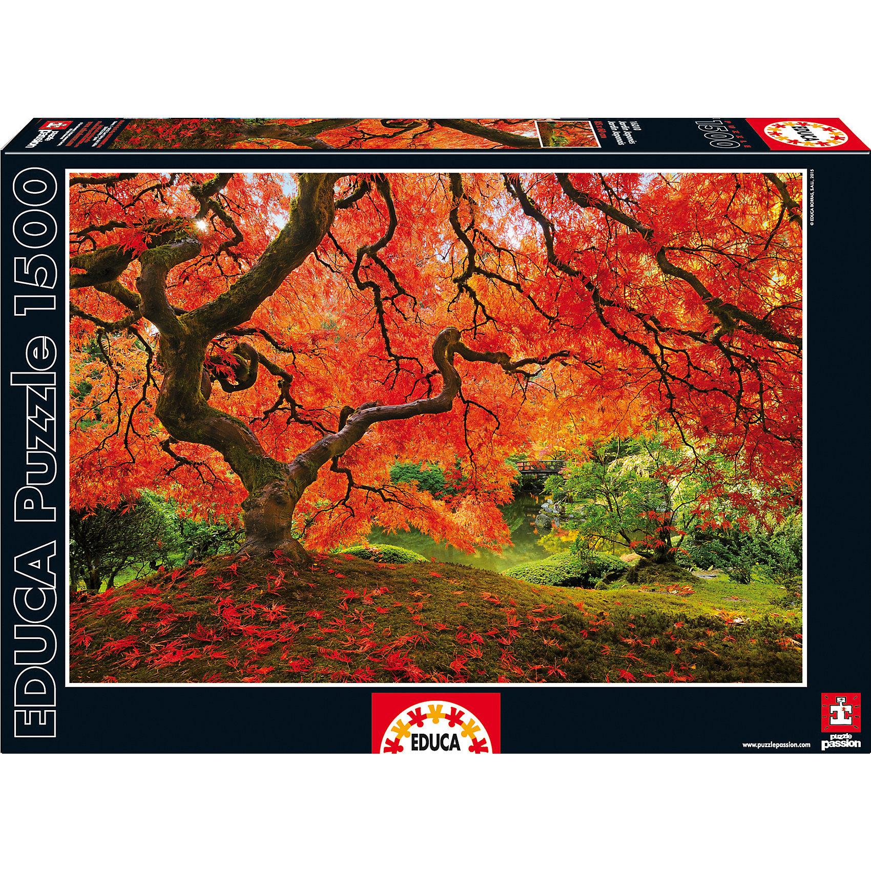 Пазл Осень в японском саду, 1500 деталей, EducaКлассические пазлы<br>Пазл Осень в японском саду, 1500 деталей, Educa (Эдука).<br><br>Характеристики:<br><br>• Размер упаковки: 430х300х55 мм.<br>• Вес: 1164г.<br>• Тип: пазл-мозаика.<br>• Возраст: с 11лет.<br>• 1500 деталей.<br>• Размер собранной картинки: 85 х 68 см.<br>• ISBN: 8412668163102<br>• Материал: картон.<br><br>Пазл Осень в японском саду, 1500 деталей, Educa(Эдука) это великолепный подарок, как для ребенка, так и для взрослого. Большой увлекательный пазл объединит всю семью за интересным занятием, отвлечет от повседневных дел, обучит терпению и внимательности. Пазлы Educa(Эдука)– это не только яркие, интересные изображения, но и высочайшее качество продукции. <br><br>Каждый пазл фирмы Educa(Эдука)изготовлен и упакован с большой тщательностью. Особенности пазлов Educa(Эдука)отсутствие двух одинаковых деталей; части пазла идеально соединяются; прочные детали не ломаются; изготовлены из экологического сырья.<br><br>Пазл Осень в японском саду, 1500 деталей, Educa(Эдука), можно купить в нашем интернет – магазине.<br><br>Ширина мм: 430<br>Глубина мм: 300<br>Высота мм: 55<br>Вес г: 1164<br>Возраст от месяцев: 36<br>Возраст до месяцев: 2147483647<br>Пол: Унисекс<br>Возраст: Детский<br>SKU: 5436308
