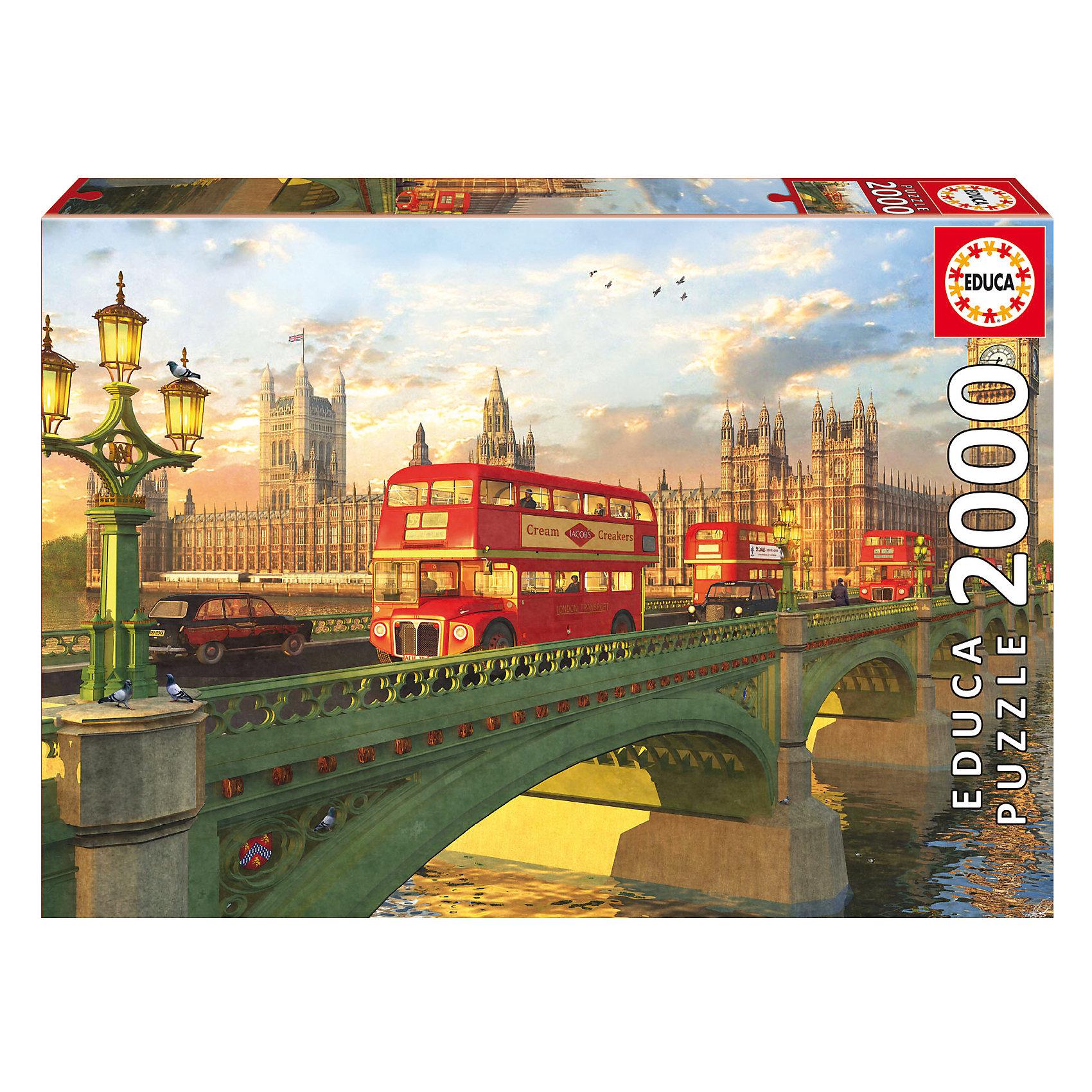 Пазл Вестминстерский мост, Лондон, 2000 деталей, EducaПазл Вестминстерский мост, Лондон, 2000 деталей, Educa (Эдука).<br><br>Характеристики:<br><br>• Размер упаковки: 430х300х55 мм.<br>• Вес: 1378г.<br>• Тип : пазл-мозаика.<br>• Возраст: с 11лет.<br>• 2000 деталей.<br>• Размер собранной картинки: 96 х 68 см.<br>• ISBN: 8412668167773<br>• Материал: картон.<br><br>Пазл Вестминстерский мост, Лондон, 2000 деталей, Educa(Эдука) это великолепный подарок, как для ребенка, так и для взрослого. Большой увлекательный пазл объединит всю семью за интересным занятием, отвлечет от повседневных дел, обучит терпению и внимательности. Пазлы Educa(Эдука)– это не только яркие, интересные изображения, но и высочайшее качество продукции. <br><br>Каждый пазл фирмы Educa(Эдука)изготовлен и упакован с большой тщательностью. Особенности пазлов Educa(Эдука)отсутствие двух одинаковых деталей; части пазла идеально соединяются; прочные детали не ломаются; изготовлены из экологического сырья.<br><br>Пазл Вестминстерский мост, Лондон, 2000 деталей, Educa(Эдука), можно купить в нашем интернет – магазине.<br><br>Ширина мм: 430<br>Глубина мм: 300<br>Высота мм: 55<br>Вес г: 1378<br>Возраст от месяцев: 36<br>Возраст до месяцев: 2147483647<br>Пол: Унисекс<br>Возраст: Детский<br>SKU: 5436310