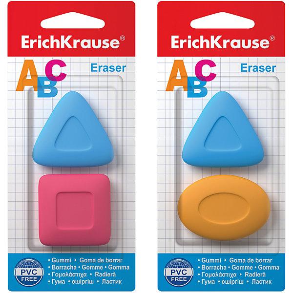 Набор из 2-х ластиков ABC, Erich KrauseЧертежные принадлежности<br>Набор из 2-х ластиков ABC, Erich Krause (Эрих Краузе). <br><br>Характеристика: <br><br>• Материал: каучук.<br>• Стружка от ластика скатывается в один комок, а не рассыпается по всей поверхности листа. <br>• 2 ластика в наборе.<br>• Яркие цвета. <br><br>Яркие ластики ABC отлично убирают карандашные линии, не рвут бумагу. Стружка от ластика скатывается в один комок, а не рассыпается по всему листу. Ластики эргономичной формы позволяют убирать даже самые маленькие и незначительные помарки.<br><br>Набор из 2-х ластиков ABC, Erich Krause (Эрих Краузе), можно купить в нашем интернет-магазине.<br>Ширина мм: 80; Глубина мм: 160; Высота мм: 7; Вес г: 40; Возраст от месяцев: 84; Возраст до месяцев: 2147483647; Пол: Унисекс; Возраст: Детский; SKU: 5436339;
