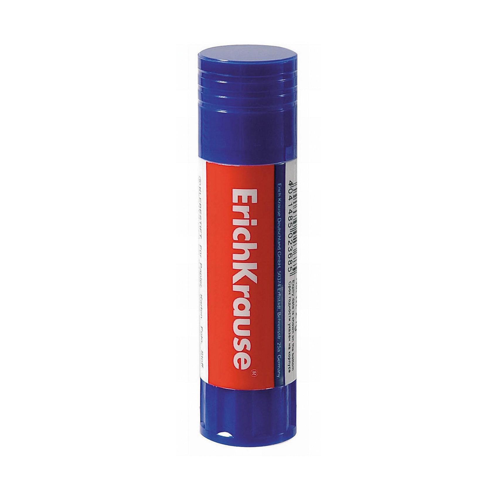 Клей-карандаш 21 г., Erich KrauseКлей-карандаш 21 г., Erich Krause (Эрих Краузе). <br><br>Характеристика: <br><br>• Материал: пластик, клей. <br>• Объем: 21 г.<br>• Размер упаковки: 2,5 x 2,5 x 10 см.<br>• Подходит для бумаги, картона, ткани. <br>• Не деформирует бумагу. <br>• Нетоксичный состав. <br>• Быстро сохнет, не оставляет разводов, легко смывается с рук.<br><br>Клей-карандаш Erich Krause отлично склеивает бумагу, картона, ткань; быстро сохнет, не имеет резкого запаха, безопасен при использовании по назначению Клей не оставляет разводов, легко смывается с рук, не деформирует бумагу.<br><br>Клей-карандаш 21 г., Erich Krause (Эрих Краузе), можно купить в нашем интернет-магазине.<br><br>Ширина мм: 25<br>Глубина мм: 97<br>Высота мм: 25<br>Вес г: 70<br>Возраст от месяцев: 84<br>Возраст до месяцев: 2147483647<br>Пол: Унисекс<br>Возраст: Детский<br>SKU: 5436341