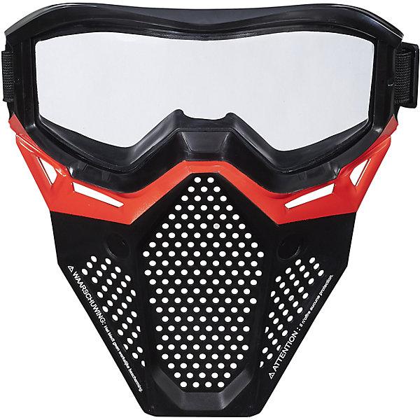 Игровая маска Райвал, NERF, B1590/B1616Другие наборы<br>Игровая маска НЁРФ Райвал. Два цвета в ассортименте: красный и синий.<br><br>Ширина мм: 79<br>Глубина мм: 206<br>Высота мм: 214<br>Вес г: 365<br>Возраст от месяцев: 168<br>Возраст до месяцев: 192<br>Пол: Мужской<br>Возраст: Детский<br>SKU: 5436574