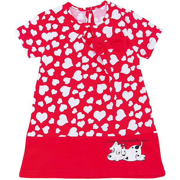 Платье для девочки АпрельПлатья и сарафаны<br>Характеристики товара:<br><br>• цвет: красный<br>• состав: 100% хлопок<br>• свободный силуэт<br>• короткие рукава<br>• декорировано принтом<br>• бант<br>• комфортная посадка<br>• страна производитель: Российская Федерация<br>• страна бренда: Российская Федерация<br><br>Это симпатичное платье - удобная и универсальная вещь, которая поможет разнообразить гардероб ребенка. Она комфортно ощущается на теле, хорошо садится по детской фигуре. Изделие отлично сочетается с различной обувью. Материал состоит из хлопка, который не вызывает аллергии и позволяет коже дышать<br><br>Платье для девочки от известного бренда Апрель можно купить в нашем интернет-магазине.<br><br>Ширина мм: 236<br>Глубина мм: 16<br>Высота мм: 184<br>Вес г: 177<br>Цвет: красный<br>Возраст от месяцев: 24<br>Возраст до месяцев: 36<br>Пол: Женский<br>Возраст: Детский<br>Размер: 98,86,116,110,104,92<br>SKU: 5438687