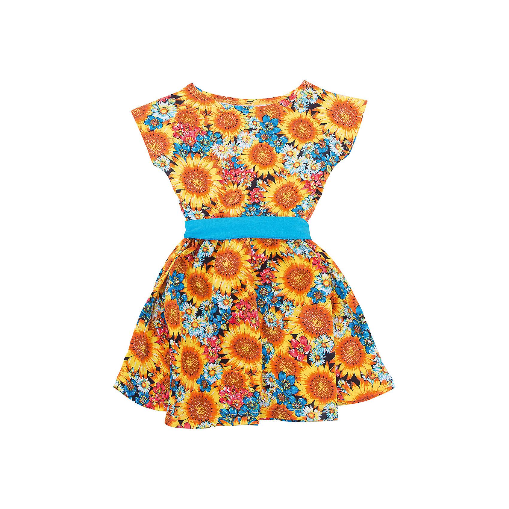 Платье для девочки АпрельПлатье для девочки от известного бренда Апрель.<br>Очаровательное летнее платье, выполненное их тонкого хлопкового полотна. Приятное на ощупь, не сковывает движения, обеспечивая наибольший комфорт. Изделие с короткими рукавами, декорировано поясом контрастного цвета. Отличный вариант для прогулки и праздника! Рекомендуется машинная стирка при температуре 40 градусов без предварительного замачивания изделия.<br>Состав:<br>хлопок 100%<br><br>Ширина мм: 236<br>Глубина мм: 16<br>Высота мм: 184<br>Вес г: 177<br>Цвет: разноцветный<br>Возраст от месяцев: 108<br>Возраст до месяцев: 120<br>Пол: Женский<br>Возраст: Детский<br>Размер: 140,98,104,110,116,122,128,134<br>SKU: 5439116