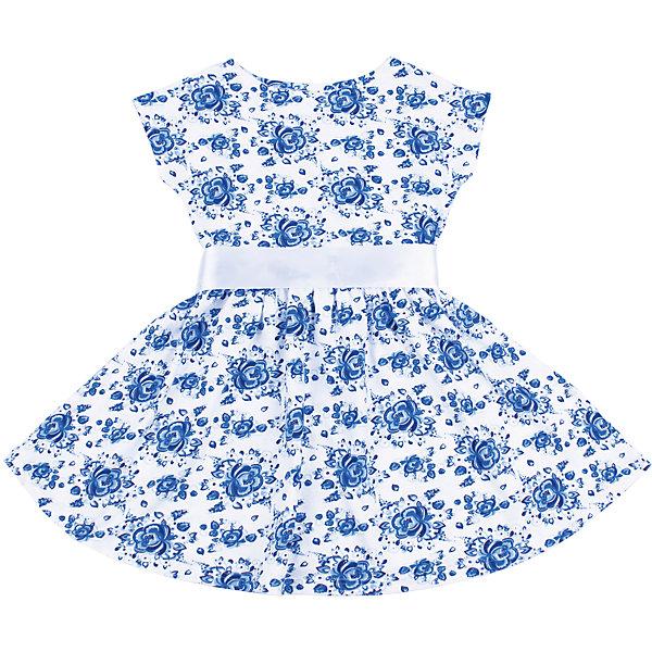 Платье для девочки АпрельПлатья и сарафаны<br>Характеристики товара:<br><br>• цвет: белый<br>• состав: 100% хлопок<br>• приталенный силуэт<br>• короткие рукава <br>• принт<br>• комфортная посадка<br>• страна производитель: Российская Федерация<br>• страна бренда: Российская Федерация<br><br>Это симпатичное платье - удобная и универсальная вещь, которая поможет разнообразить гардероб ребенка. Она комфортно ощущается на теле, хорошо садится по детской фигуре. Изделие отлично сочетается с различной обувью. Материал состоит из хлопка, который не вызывает аллергии и позволяет коже дышать.<br><br>Платье для девочки от известного бренда Апрель можно купить в нашем интернет-магазине.<br><br>Ширина мм: 236<br>Глубина мм: 16<br>Высота мм: 184<br>Вес г: 177<br>Цвет: голубой<br>Возраст от месяцев: 24<br>Возраст до месяцев: 36<br>Пол: Женский<br>Возраст: Детский<br>Размер: 98,104,140,134,128,122,116,110<br>SKU: 5439462