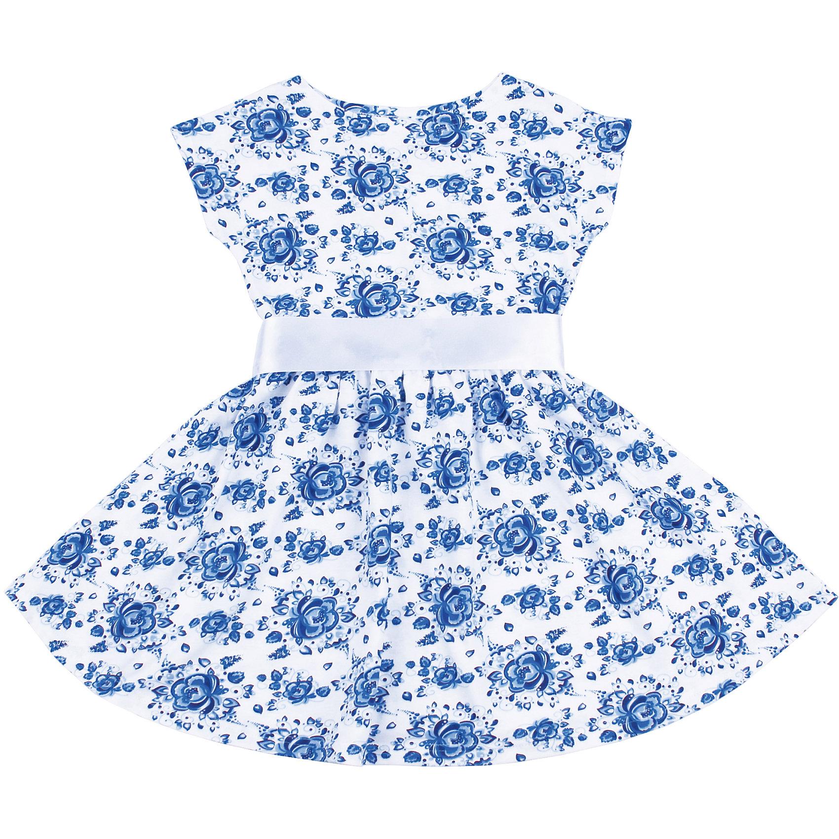 Платье для девочки АпрельПлатья и сарафаны<br>Характеристики товара:<br><br>• цвет: белый<br>• состав: 100% хлопок<br>• приталенный силуэт<br>• короткие рукава <br>• принт<br>• комфортная посадка<br>• страна производитель: Российская Федерация<br>• страна бренда: Российская Федерация<br><br>Это симпатичное платье - удобная и универсальная вещь, которая поможет разнообразить гардероб ребенка. Она комфортно ощущается на теле, хорошо садится по детской фигуре. Изделие отлично сочетается с различной обувью. Материал состоит из хлопка, который не вызывает аллергии и позволяет коже дышать.<br><br>Платье для девочки от известного бренда Апрель можно купить в нашем интернет-магазине.<br><br>Ширина мм: 236<br>Глубина мм: 16<br>Высота мм: 184<br>Вес г: 177<br>Цвет: голубой<br>Возраст от месяцев: 24<br>Возраст до месяцев: 36<br>Пол: Женский<br>Возраст: Детский<br>Размер: 98,104,110,116,122,128,134,140<br>SKU: 5439462