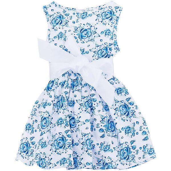 Платье для девочки АпрельПлатья и сарафаны<br>Характеристики товара:<br><br>• цвет: белый<br>• состав: 100% хлопок<br>• приталенный силуэт<br>• без рукавов<br>• принт<br>• комфортная посадка<br>• страна производитель: Российская Федерация<br>• страна бренда: Российская Федерация<br><br>Это симпатичное платье - удобная и универсальная вещь, которая поможет разнообразить гардероб ребенка. Она комфортно ощущается на теле, хорошо садится по детской фигуре. Изделие отлично сочетается с различной обувью. Материал состоит из хлопка, который не вызывает аллергии и позволяет коже дышать.<br><br>Платье для девочки от известного бренда Апрель можно купить в нашем интернет-магазине.<br>Ширина мм: 236; Глубина мм: 16; Высота мм: 184; Вес г: 177; Цвет: голубой; Возраст от месяцев: 24; Возраст до месяцев: 36; Пол: Женский; Возраст: Детский; Размер: 98,140,134,128,122,116,110,104; SKU: 5439479;