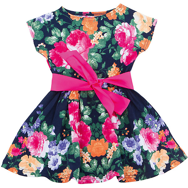 Платье для девочки АпрельПлатья и сарафаны<br>Характеристики товара:<br><br>• цвет: мультиколор<br>• состав: 100% хлопок<br>• приталенный силуэт<br>• короткие рукава<br>• бант-брошка<br>• принт<br>• комфортная посадка<br>• страна производитель: Российская Федерация<br>• страна бренда: Российская Федерация<br><br>Это симпатичное платье - удобная и универсальная вещь, которая поможет разнообразить гардероб ребенка. Она комфортно ощущается на теле, хорошо садится по детской фигуре. Изделие отлично сочетается с различной обувью. Материал состоит из хлопка, который не вызывает аллергии и позволяет коже дышать.<br><br>Платье для девочки от известного бренда Апрель можно купить в нашем интернет-магазине.<br><br>Ширина мм: 236<br>Глубина мм: 16<br>Высота мм: 184<br>Вес г: 177<br>Цвет: белый<br>Возраст от месяцев: 24<br>Возраст до месяцев: 36<br>Пол: Женский<br>Возраст: Детский<br>Размер: 98,140,134,128,122,116,110,104<br>SKU: 5439513