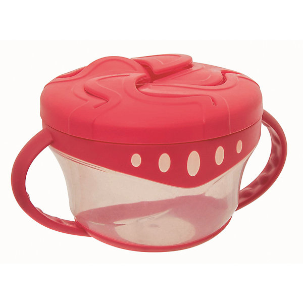 Чашка для сухих завтраков, Мир Детства, красныйДетская посуда<br>Чашка для сухих завтраков, Мир Детства, красный.<br><br>Характеристики:<br><br>• Возраст: от 4 месяцев<br>• Диаметр: 7-8 см.<br>• Высота: 6 см.<br>• Цвет: красный<br>• Материал: полипропилен, термопластэластомер<br>• Не содержит Бисфенол-А<br>• Запрещено стерилизовать и разогревать в СВЧ-печи<br>• Разрешено мыть в посудомоечной машине только в верхнем отделении<br><br>Чашка для сухих завтраков разработана специально для хранения детских закусок: печенья, сушек, сухариков. Пластичные лепестки крышки удерживают содержимое чашки таким образом, чтобы малыш мог легко до него добраться, ничего не просыпав. Прозрачные стенки чашки позволяют контролировать объем оставшейся пищи. Легкая компактная чашка особенно удобна в путешествиях. Подходит для ежедневного использования. Незаменима как дома, так и на прогулках.<br><br>Чашку для сухих завтраков, Мир Детства, красную можно купить в нашем интернет-магазине.<br><br>Ширина мм: 70<br>Глубина мм: 100<br>Высота мм: 190<br>Вес г: 80<br>Возраст от месяцев: 4<br>Возраст до месяцев: 24<br>Пол: Унисекс<br>Возраст: Детский<br>SKU: 5439963