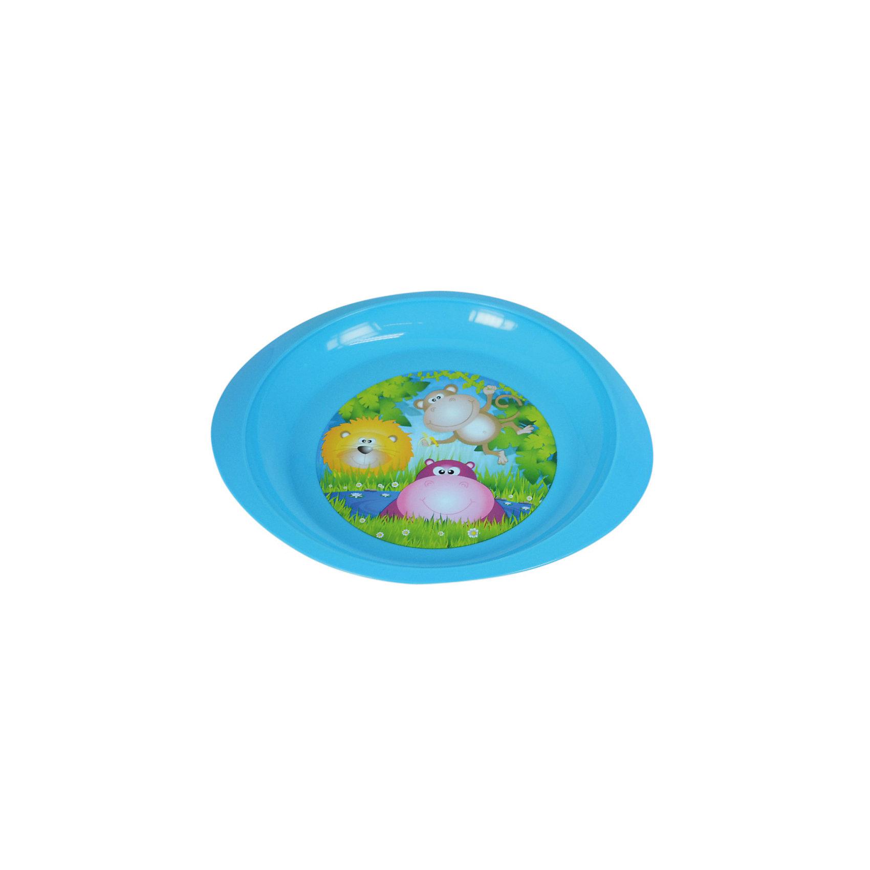 Тарелочка детская для вторых блюд, Курносики, голубойПосуда для малышей<br>Тарелочка детская для вторых блюд, Курносики, голубой.<br><br>Характеристики:<br><br>• Возраст: от 4 месяцев<br>• Цвет: голубой<br>• Материал: полипропилен<br>• Можно разогревать в СВЧ и мыть в посудомоечной машине<br><br>Тарелочка для вторых блюд, декорированная ярким рисунком с изображением забавных животных, подходит для холодной и горячей пищи. Тарелка изготовлена из высококачественного полипропилена. Яркая привлекательная тарелочка поможет вашему ребенку быстрее освоить навыки самостоятельного приема пищи.<br><br>Тарелочку детскую для вторых блюд, Курносики, голубую можно купить в нашем интернет-магазине.<br><br>Ширина мм: 0<br>Глубина мм: 0<br>Высота мм: 0<br>Вес г: 80<br>Возраст от месяцев: 4<br>Возраст до месяцев: 24<br>Пол: Мужской<br>Возраст: Детский<br>SKU: 5439964
