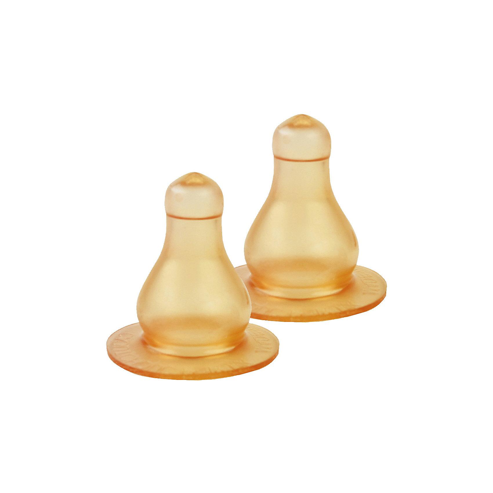 Соска латексная большого размера со средним отверстием, КурносикиБутылочки и аксессуары<br>Соска латексная большого размера со средним отверстием, Курносики.<br><br>Характеристики:<br><br>• Для детей с 6 месяцев<br>• В наборе: 2 соски<br>• Вид отверстия: среднее<br>• Материал: латекс<br>• Размер упаковки: 12х2х2 см.<br><br>Соски большого размера со средним отверстием имеют классическую форму. Они подходят для бутылочек со стандартным горлом. Оптимальны для густого питания: каш, соков, кисломолочных продуктов. Соски изготовлены из латекса - натурального, мягкого, упругого, эластичного материала, который идеален для правильного физиологического развития ротика малыша, по своим свойствам наиболее соответствует материнскому соску.<br><br>Соску латексную большого размера со средним отверстием, Курносики можно купить в нашем интернет-магазине.<br><br>Ширина мм: 0<br>Глубина мм: 0<br>Высота мм: 0<br>Вес г: 20<br>Возраст от месяцев: 6<br>Возраст до месяцев: 12<br>Пол: Унисекс<br>Возраст: Детский<br>SKU: 5439967