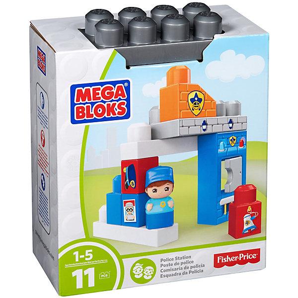 Конструктор Полицейский участок, MEGA BLOKSПластмассовые конструкторы<br>Характеристики:<br><br>• тип игрушки: игровой набор;<br>• возраст: от 1 года;<br>• размер: 11х21х26 см;<br>• количество деталей: 11 шт;<br>• бренд: Mega Bloks;<br>• материал: пластик;<br>• страна бренда: Канада.<br> <br>Конструктор «Полицейский участок» MEGA BLOKS непременно понравится детям,предпочитающим сюжетно-ролевые игры. Комплект набора состоит из 11 красочных деталей и мини-фигурки. Благодаря данному набору, ребенок сможет придумывать различные игровые сценарии и увлекательно проводить свое свободное время. <br><br>Конструктор «Полицейский участок» MEGA BLOKS можно купить в нашем интернет-магазине.<br>Ширина мм: 205; Глубина мм: 110; Высота мм: 255; Вес г: 341; Возраст от месяцев: 12; Возраст до месяцев: 60; Пол: Мужской; Возраст: Детский; SKU: 5440285;