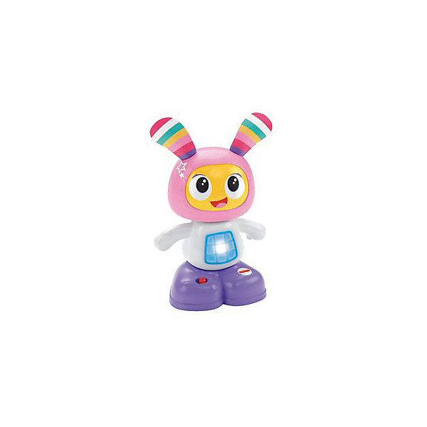 Мини-игрушка Бибель, Fisher PriceИнтерактивные игрушки для малышей<br>Мини-игрушка Бибель, Fisher Price (Фишер Прайс).<br><br>Характеристики:<br><br>• Высота: 15 см.<br>• Материал: пластик, металл, текстиль<br>• Батарейки: 2хААА / LR0.3 1,5V (в комплект не входят)<br><br>Обучающая мини-игрушка Бибель от торговой марки Fisher-Price (Фишер Прайс), выполненная в виде забавного зайчика с веселой мордашкой и длинными ушками, привлечет внимание вашего малыша. Внутри игрушки есть звуковой и световой модули, активировать которые можно нажав на покачивающуюся голову. Бибель обучит вашего малыша новым фразам, мелодиям и веселым песенкам, под которые можно танцевать. <br><br>Игрушка поможет ребенку в развитии координации движений, моторных навыков, музыкального и слухового восприятия. С ней ваш малыш не заскучает и сможет придумать множество веселых игр и занятий. Игрушка изготовлена из качественного пластика, благодаря чему ей не страшны удары и падения.<br><br>Мини-игрушку Бибель, Fisher Price (Фишер Прайс) можно купить в нашем интернет-магазине.<br><br>Ширина мм: 105<br>Глубина мм: 70<br>Высота мм: 160<br>Вес г: 273<br>Возраст от месяцев: 72<br>Возраст до месяцев: 432<br>Пол: Женский<br>Возраст: Детский<br>SKU: 5440295