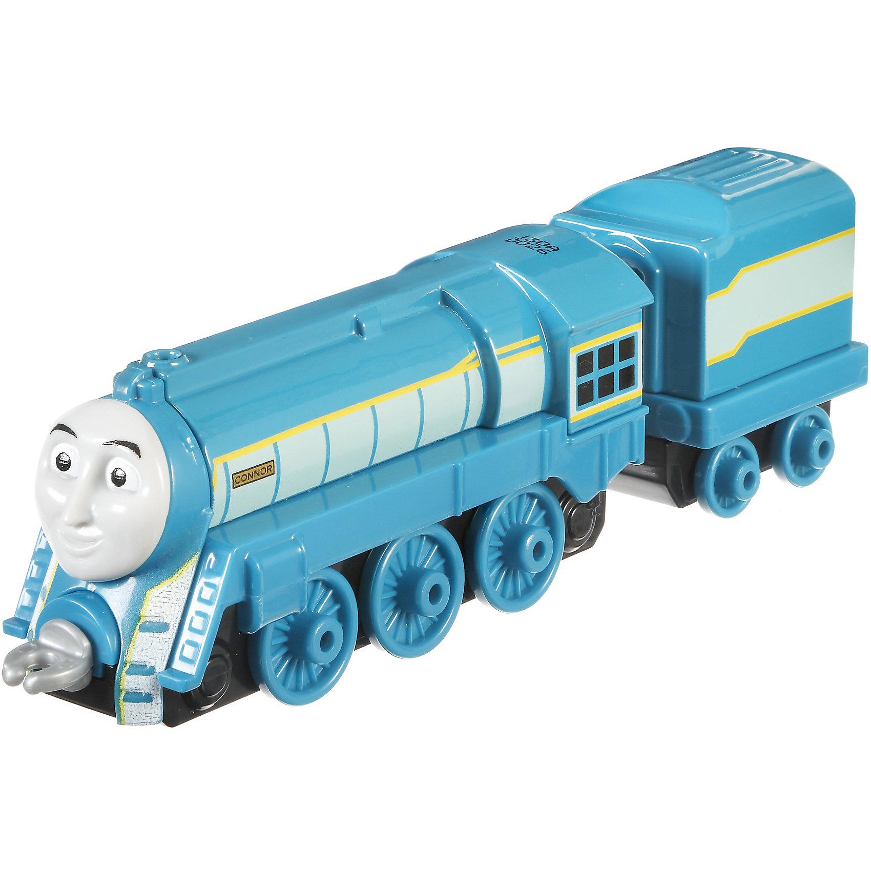 Большой паровозик, Томас и его друзьяБольшой паровозик, Томас и его друзья.<br><br>Характеристики:<br><br>• Материал: пластик, металл<br>• Размер упаковки: 19х11,5х3 см.<br>• Вес: 380 гр.<br><br>Большой паровозик Коннор создан по мотивам мультфильма Томас и его друзья, невероятно популярного среди миллионов детей во всем мире. Паровозик отличается высокой степенью детализации и соответствия своему экранному прототипу. При движении позади транспортного средства забавно покачивается вагон-прицеп. <br><br>Надежные пластиковые соединения позволяют присоединять к паровозику вагончики, тендеры и другие паровозики из серии «Томас и друзья». Игрушка станет отличным подарком для поклонников мультсериала «Томас и друзья», а также для любителей железных дорог! Паровозик изготовлен из высококачественных материалов, используемые красители не содержат токсичных компонентов и полностью безопасны для здоровья ребенка.<br><br>Большой паровозик, Томас и его друзья можно купить в нашем интернет-магазине.<br><br>Ширина мм: 190<br>Глубина мм: 35<br>Высота мм: 115<br>Вес г: 54<br>Возраст от месяцев: 36<br>Возраст до месяцев: 120<br>Пол: Мужской<br>Возраст: Детский<br>SKU: 5440302