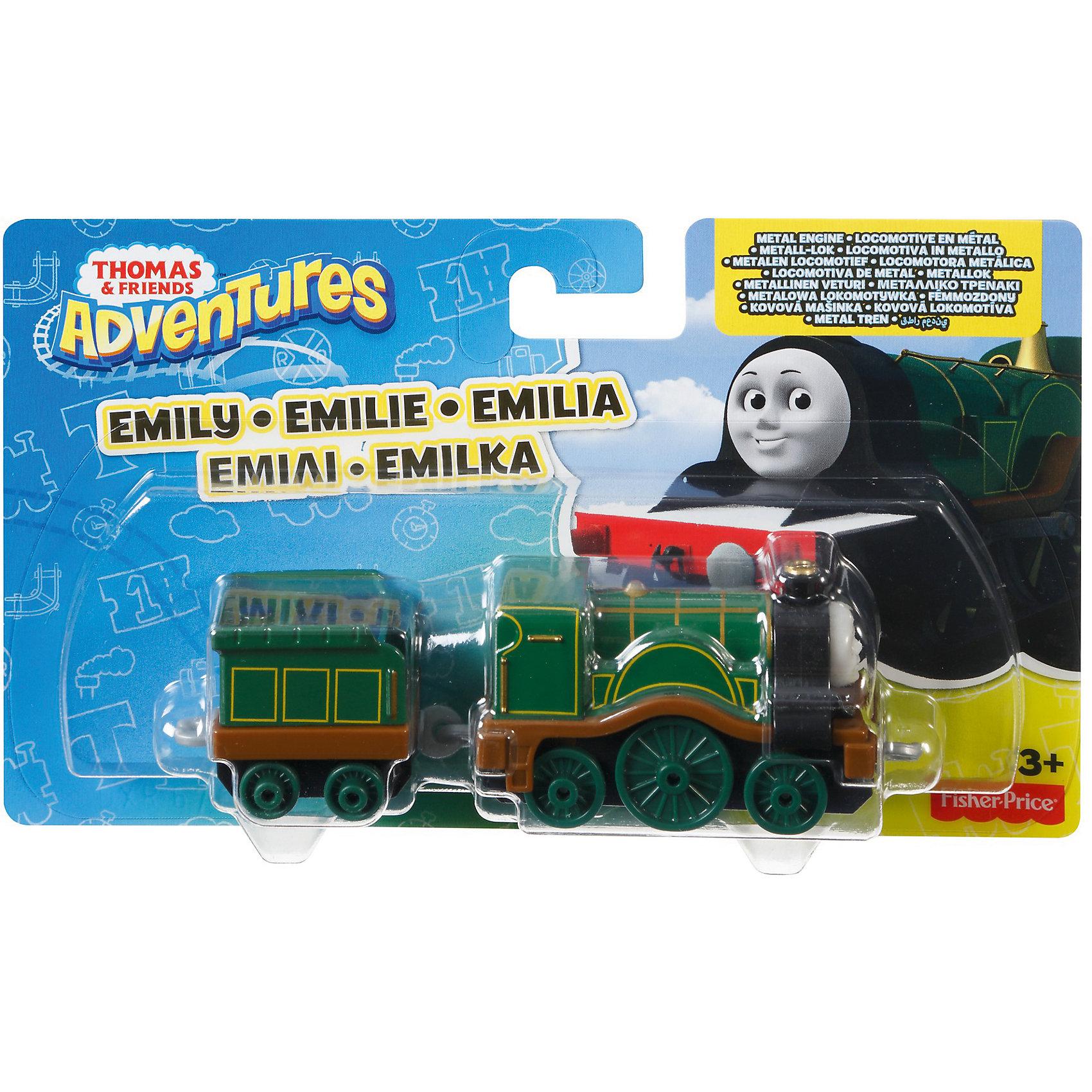 Большой паровозик, Томас и его друзьяПопулярные игрушки<br>Большой паровозик, Томас и его друзья.<br><br>Характеристики:<br><br>• Материал: пластик, металл<br>• Размер упаковки: 19х11,5х3 см.<br>• Вес: 380 гр.<br><br>Большой паровозик Эмили создан по мотивам мультфильма Томас и его друзья, невероятно популярного среди миллионов детей во всем мире. Паровозик отличается высокой степенью детализации и соответствия своему экранному прототипу. При движении позади транспортного средства забавно покачивается вагон-прицеп. <br><br>Надежные пластиковые соединения позволяют присоединять к паровозику вагончики, тендеры и другие паровозики из серии «Томас и друзья». Игрушка станет отличным подарком для поклонников мультсериала «Томас и друзья», а также для любителей железных дорог! Паровозик изготовлен из высококачественных материалов, используемые красители не содержат токсичных компонентов и полностью безопасны для здоровья ребенка.<br><br>Большой паровозик, Томас и его друзья можно купить в нашем интернет-магазине.<br><br>Ширина мм: 190<br>Глубина мм: 35<br>Высота мм: 115<br>Вес г: 54<br>Возраст от месяцев: 36<br>Возраст до месяцев: 120<br>Пол: Мужской<br>Возраст: Детский<br>SKU: 5440307