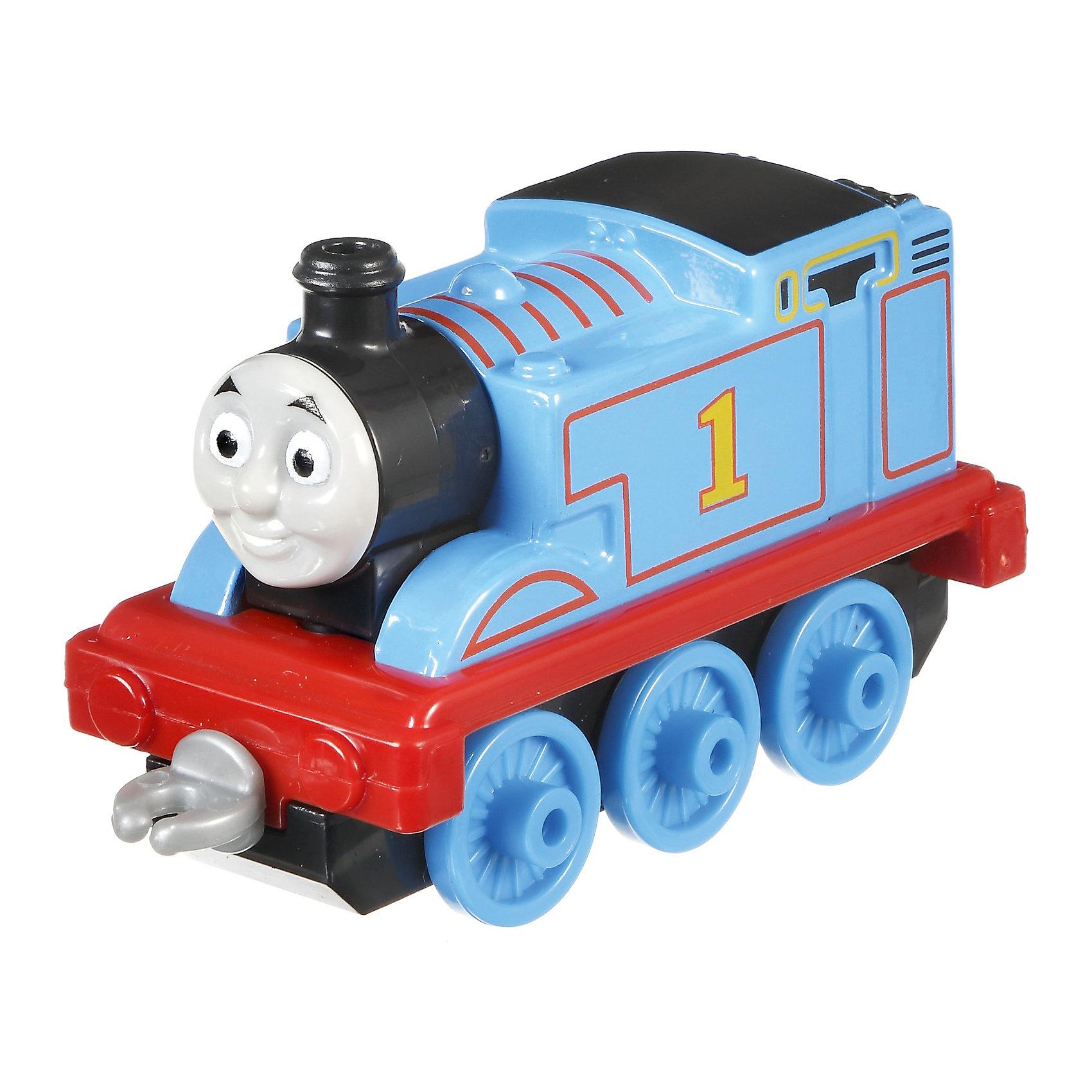 Маленький паровозик, Томас и его друзьяТомас и его друзья<br>Маленький паровозик, Томас и его друзья.<br><br>Характеристики:<br><br>• Материал: пластик, металл<br>• Размер упаковки: 13х11,5х3 см.<br>• Вес: 280 гр.<br><br>Маленький паровозик Томас создан по мотивам мультфильма Томас и его друзья, невероятно популярного среди миллионов детей во всем мире. Паровозик отличается высокой степенью детализации и соответствия своему экранному прототипу. Надежные пластиковые соединения позволяют присоединять к паровозику вагончики, тендеры и другие паровозики из серии «Томас и друзья». <br><br>Игрушка станет отличным подарком для поклонников мультсериала «Томас и друзья», а также для любителей железных дорог! Паровозик изготовлен из высококачественных материалов, используемые красители не содержат токсичных компонентов и полностью безопасны для здоровья ребенка.<br><br>Маленький паровозик, Томас и его друзья можно купить в нашем интернет-магазине.<br><br>Ширина мм: 130<br>Глубина мм: 35<br>Высота мм: 115<br>Вес г: 64<br>Возраст от месяцев: 36<br>Возраст до месяцев: 120<br>Пол: Мужской<br>Возраст: Детский<br>SKU: 5440308