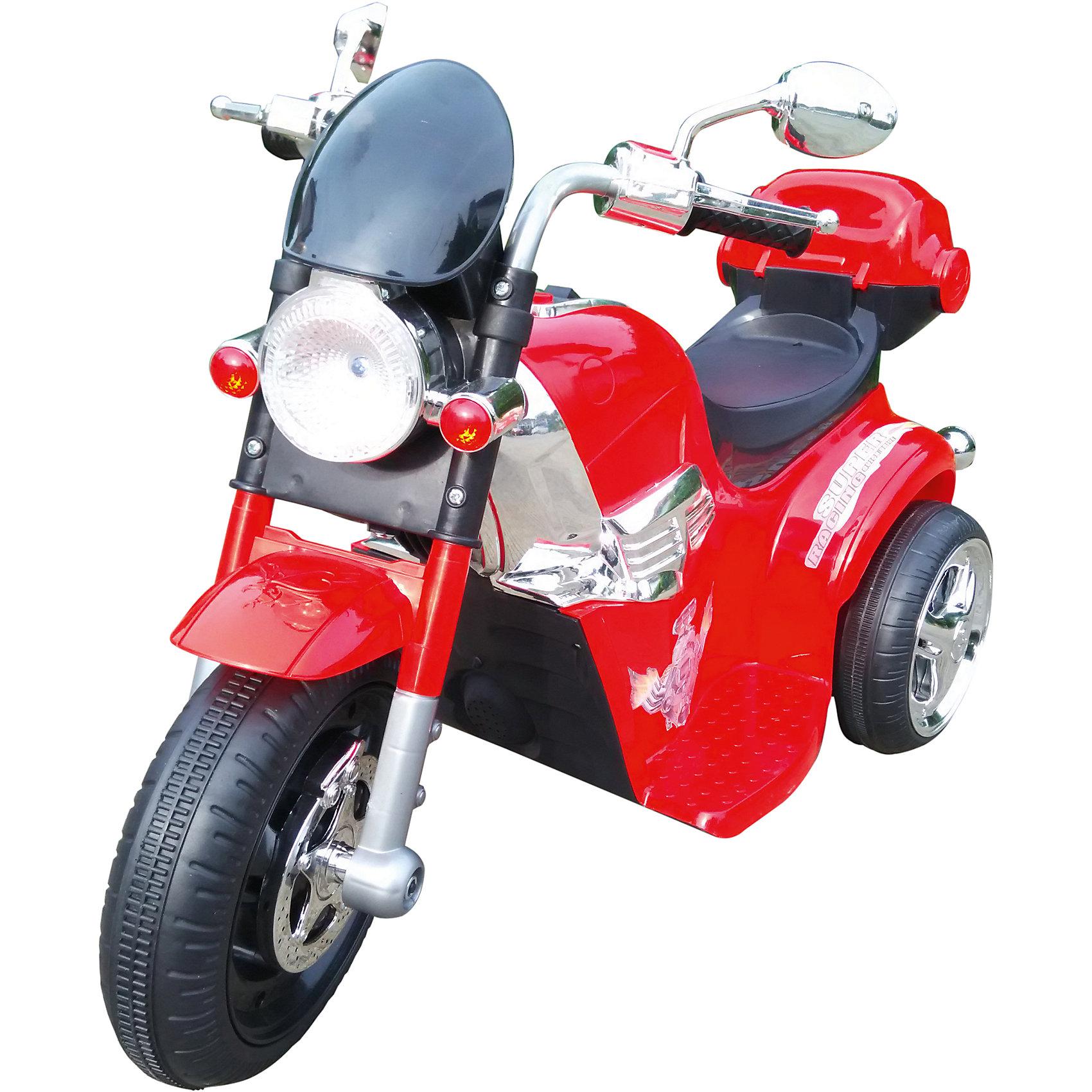 Электромтоцикл Top Gear Junior, 1toyЭлектромобили<br>Детский электрический мотоцикл, 1toy (Ван Той)<br><br>Характеристики:<br><br>• световые и звуковые эффекты<br>• для детей от 3 до 5 лет<br>• размер: 90х43х54 см<br>• колеса: пластик<br>• аккумулятор: 6В/4Ач<br>• мотор: 15 Вт<br>• максимальная нагрузка: 30 кг<br>• размер упаковки: 34х31х59 см<br>• вес: 6,1 кг<br><br>Электромобиль станет первым транспортом юного гонщика. Мотоцикл предназначен для детей от 3 до 5 лет, весом до 30 килограмм. Колеса электромобиля изготовлены из прочного пластика, который прекрасно справится с любой дорожной поверхностью. Электромобиль оснащен световыми и звуковыми эффектами. Кататься с музыкой и яркими огоньками невероятно весело!<br><br>Детский электрический мотоцикл, 1toy (Ван Той) вы можете купить в нашем интернет-магазине.<br><br>Ширина мм: 590<br>Глубина мм: 310<br>Высота мм: 340<br>Вес г: 6100<br>Возраст от месяцев: 36<br>Возраст до месяцев: 2147483647<br>Пол: Унисекс<br>Возраст: Детский<br>SKU: 5440860