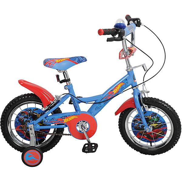 Двухколесный велосипед KITE, Hot Wheel, TopGearВелосипеды детские<br>Характеристики товара:<br><br>• материал: металл, полимер<br>• цвет: голубой<br>• диаметр колес: 14 дюймов<br>• дополнительные страховочные колеса<br>• удобный руль <br>• защитные крылья<br>• защита цепи<br>• стальная прочная рама<br>• регулировка сиденья по высоте<br>• багажник<br>• мягкое удобное сиденье<br>• светоотражающие элементы<br>• педали с рифленой поверхностью<br>• принт<br>• рост: до 125 см<br>• надежные материалы<br>• бутиловые шины хорошо удерживают воздух <br>• продуманная конструкция<br>• яркий цвет<br>• возраст: от 3 лет<br>• ручные тормоза<br>• вес: 9 кг<br><br>Подарить малышу такой велосипед - значит, помочь развитию ребенка. Он способствует скорейшему развитию способности ориентироваться в пространстве, развивает физические способности, мышление и ловкость. Помимо этого, кататься на нём - очень увлекательное занятие!<br><br>Этот велосипед разработан специально для детей. В комплект входят дополнительные страховочные колеса, которые можно снять, когда ребенок научится уверенно ездить. Данная модель выполнена в ярком дизайне, отличается продуманной конструкцией и деталями, которые обеспечивают безопасность ребенка. Отличный подарок для активного малыша!<br><br>Двухколесный велосипед KITE, Hot Wheel, TopGear от бренда Navigator можно купить в нашем интернет-магазине.<br><br>Ширина мм: 800<br>Глубина мм: 360<br>Высота мм: 170<br>Вес г: 9600<br>Возраст от месяцев: 48<br>Возраст до месяцев: 2147483647<br>Пол: Мужской<br>Возраст: Детский<br>SKU: 5440876
