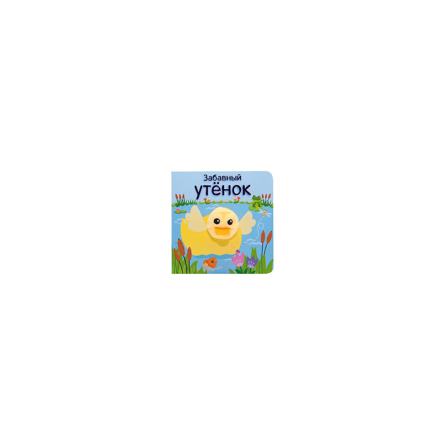 Книжки с пальчиковыми куклами Забавный утёнок, Мозаика-СинтезПервые книги малыша<br>Книжки с пальчиковыми куклами Забавный утёнок, Мозаика-Синтез<br><br>Характеристики:<br><br>• Возраст: до 3 лет<br>• Обложка: твердая<br>• Страниц: 12<br>• Автор: О. Мазалева<br>• Размер книги: 12.5 х 12.5 см.<br>• ISBN: 978-5-43151-022-9<br>• Формат: мини<br><br>Эта удивительная книга подарит вашему ребенку много часов счастливой игры и поможет развить воображение. В комплекте с книгой идет не только пальчиковая игрушка утенок, но и множество стихов и описания приключений героя, которые подарят вам возможность увлечь малыша рассказом, помочь ему в развитии фантазии и дать поиграть с милой игрушкой. Книга имеет закругленные края и изготовлена на плотном картоне, чтобы быть абсолютно безопасной для вашего малыша.<br><br>Книжки с пальчиковыми куклами Забавный утёнок, Мозаика-Синтез можно купить в нашем интернет-магазине.<br><br>Ширина мм: 125<br>Глубина мм: 125<br>Высота мм: 17<br>Вес г: 0<br>Возраст от месяцев: 12<br>Возраст до месяцев: 36<br>Пол: Унисекс<br>Возраст: Детский<br>SKU: 5441682