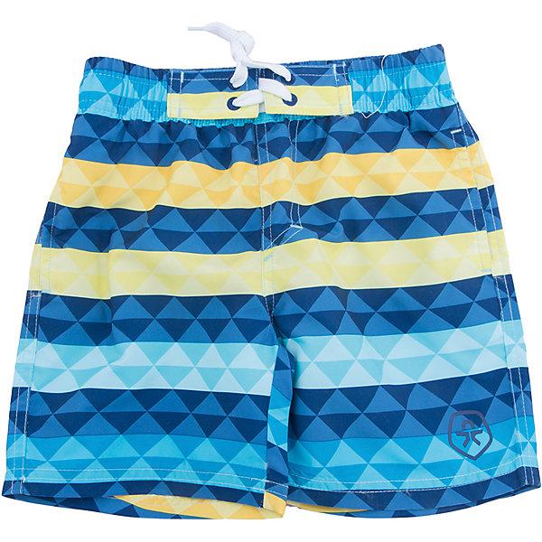 Плавки-шорты Color KidsШорты, бриджи, капри<br>Характеристики товара:<br><br>• состав: 100 % полиэстер, микро-волокно<br>• пояс: резинка <br>• быстросохнущий материал<br>• логотип<br>• комфортная посадка<br>• страна бренда: Дания<br>• страна изготовитель: Китай<br><br>Одежда для пляжного отдыха может быть и стильной, и удобной! Эти шорты сделаны из легкого материала, который быстро сохнет, поэтому в них можно купаться.<br><br>Шорты от датского бренда Color Kids (Колор кидз) можно купить в нашем интернет-магазине.<br>Ширина мм: 183; Глубина мм: 60; Высота мм: 135; Вес г: 119; Цвет: голубой; Возраст от месяцев: 60; Возраст до месяцев: 72; Пол: Мужской; Возраст: Детский; Размер: 116,104,152,140,128; SKU: 5442877;
