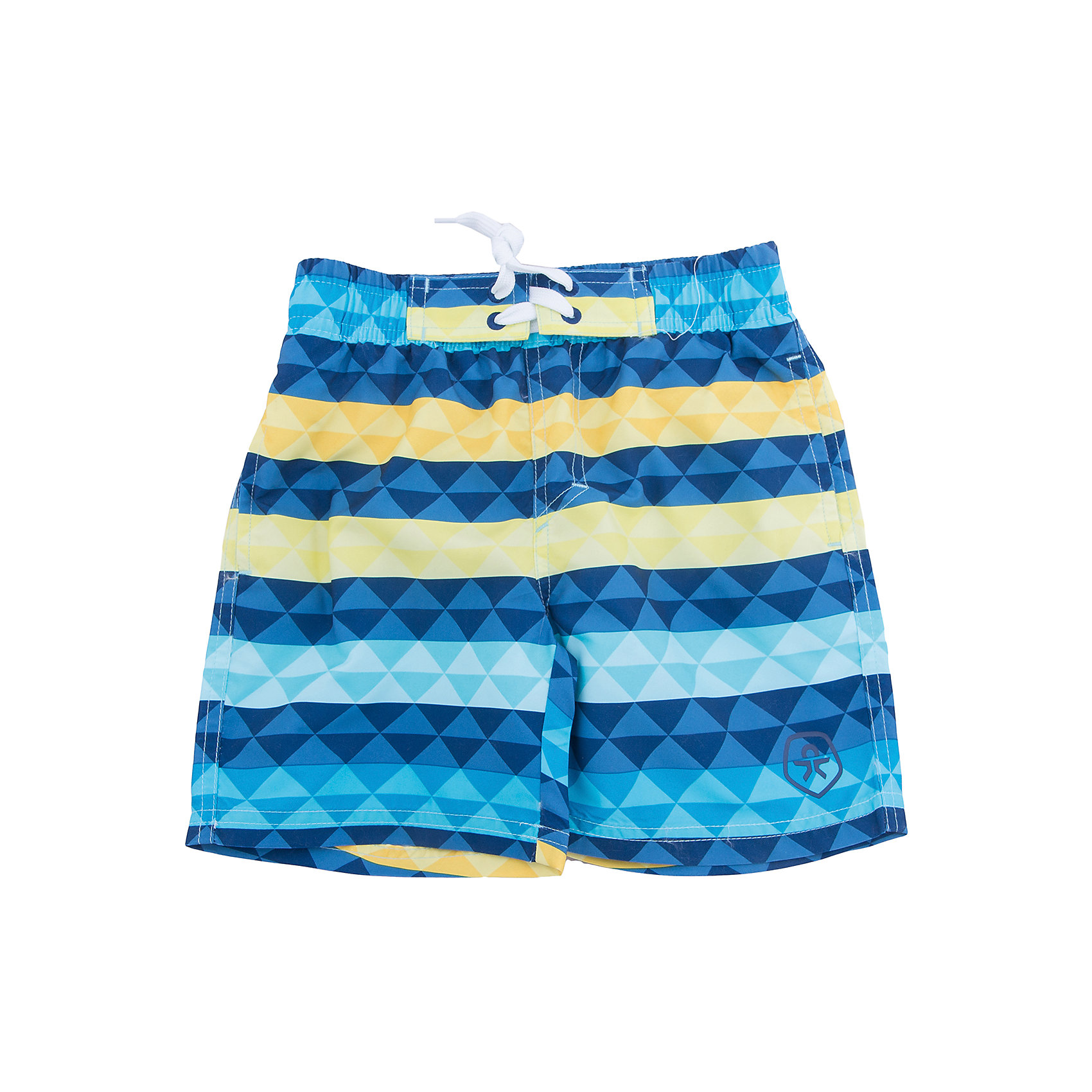 Плавки-шорты Color KidsШорты, бриджи, капри<br>Характеристики товара:<br><br>• состав: 100 % полиэстер, микро-волокно<br>• пояс: резинка <br>• быстросохнущий материал<br>• логотип<br>• комфортная посадка<br>• страна бренда: Дания<br>• страна изготовитель: Китай<br><br>Одежда для пляжного отдыха может быть и стильной, и удобной! Эти шорты сделаны из легкого материала, который быстро сохнет, поэтому в них можно купаться.<br><br>Шорты от датского бренда Color Kids (Колор кидз) можно купить в нашем интернет-магазине.<br><br>Ширина мм: 183<br>Глубина мм: 60<br>Высота мм: 135<br>Вес г: 119<br>Цвет: голубой<br>Возраст от месяцев: 132<br>Возраст до месяцев: 144<br>Пол: Мужской<br>Возраст: Детский<br>Размер: 152,104,116,128,140<br>SKU: 5442877