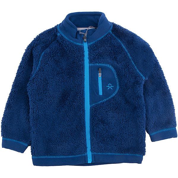 Куртка для мальчика Color KidsВерхняя одежда<br>Характеристики товара:<br><br>• цвет: синий<br>• состав: 100 % полиэстер, микро-флис клееный с ворсом<br>• мягкая отделка низа и рукавов<br>• мягкий воротник<br>• застежка: молния<br>• карман на молнии на груди<br>• защита подбородка<br>• логотип<br>• комфортная посадка<br>• страна бренда: Дания<br><br>Эта симпатичная и удобная куртка сделана из теплого мягкого флиса, поэтому отлично подойдет для создания дополнительного слоя в одежде. Она комфортно сидит и обеспечивает ребенку необходимое удобство и тепло.<br><br>Куртку для девочки от датского бренда Color Kids (Колор кидз) можно купить в нашем интернет-магазине.<br>Ширина мм: 356; Глубина мм: 10; Высота мм: 245; Вес г: 519; Цвет: синий; Возраст от месяцев: 12; Возраст до месяцев: 15; Пол: Мужской; Возраст: Детский; Размер: 80,98,92,86; SKU: 5442943;