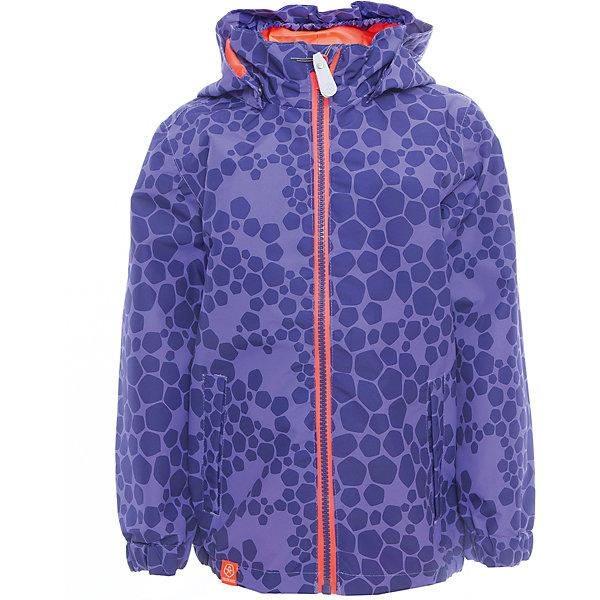 Ветровка для девочки Color KidsВерхняя одежда<br>Характеристики товара:<br><br>• цвет: фиолетовый<br>• состав: 100 % полиэстер, таслан<br>• подкладка: 100 % полиэфир, тафетта<br>• без утеплителя<br>• температурный режим: +10 С° до +20 С°<br>• мембранная технология<br>• водонепроницаемость: 3000 мм<br>• воздухопроницаемость: 3000 мм<br>• пропитка BIONIC-FINISH® ECO не содержащая фтора, парафина и формальдегида (дополнительная защита от грязи)<br>• проклеенные швы<br>• утяжка по низу куртки<br>• светоотражающие детали<br>• швы проклеены<br>• съемный капюшон<br>• защита подбородка<br>• два кармана на молнии<br>• логотип<br>• страна бренда: Дания<br><br>Эта симпатичная и удобная куртка сделана из непромокаемого легкого материала, поэтому отлично подойдет для дождливой погоды в межсезонье. Она комфортно сидит и обеспечивает ребенку необходимое удобство. Очень стильно смотрится.<br><br>Ветровку для мальчика от датского бренда Color Kids (Колор кидз) можно купить в нашем интернет-магазине.<br>Ширина мм: 356; Глубина мм: 10; Высота мм: 245; Вес г: 519; Цвет: лиловый; Возраст от месяцев: 36; Возраст до месяцев: 48; Пол: Женский; Возраст: Детский; Размер: 104,98,92,152,140,128,122,116,110; SKU: 5443059;