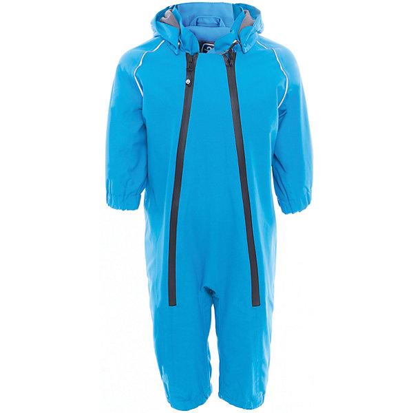 Комбинезон  Color KidsВерхняя одежда<br>Характеристики товара:<br><br>• цвет: голубой<br>• состав: 100 % нейлон, Oxford<br>• подкладка: 100 % полиэстер, микро-флис<br>• без утеплителя<br>• температурный режим: от +7°до +15°С<br>• мембранная технология<br>• водонепроницаемость: 5000 мм<br>• воздухопроницаемость: 5000 мм<br>• ветрозащитный<br>• все швы проклеены<br>• светоотражающие детали<br>• эластичная талия<br>• съёмный капюшон на кнопках<br>• защита подбородка<br>• штрипки<br>• водонепроницаемые молнии<br>• комфортная посадка<br>• страна бренда: Дания<br><br>Такой удобный комбинезон сделана из непромокаемого легкого материала, поэтому отлично подойдет для дождливой погоды в межсезонье. Он комфортно сидит и обеспечивает ребенку необходимое удобство и тепло. Очень стильно смотрится.<br><br>Комбинезон от датского бренда Color Kids (Колор кидз) можно купить в нашем интернет-магазине.<br>Ширина мм: 356; Глубина мм: 10; Высота мм: 245; Вес г: 519; Цвет: голубой; Возраст от месяцев: 12; Возраст до месяцев: 18; Пол: Унисекс; Возраст: Детский; Размер: 86,92,80,74,98; SKU: 5443114;