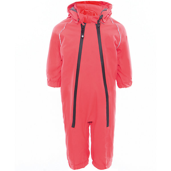 Комбинезон  Color KidsВерхняя одежда<br>Характеристики товара:<br><br>• цвет: красный<br>• состав: 100 % нейлон, Oxford<br>• подкладка: 100 % полиэстер, микро-флис<br>• без утеплителя<br>• температурный режим: от +7°до +15°С<br>• мембранная технология<br>• водонепроницаемость: 5000 мм<br>• воздухопроницаемость: 5000 мм<br>• ветрозащитный<br>• все швы проклеены<br>• светоотражающие детали<br>• эластичная талия<br>• съёмный капюшон на кнопках<br>• защита подбородка<br>• штрипки<br>• водонепроницаемые молнии<br>• комфортная посадка<br>• страна бренда: Дания<br><br>Такой удобный комбинезон сделана из непромокаемого легкого материала, поэтому отлично подойдет для дождливой погоды в межсезонье. Он комфортно сидит и обеспечивает ребенку необходимое удобство и тепло. Очень стильно смотрится.<br><br>Комбинезон от датского бренда Color Kids (Колор кидз) можно купить в нашем интернет-магазине.<br>Ширина мм: 356; Глубина мм: 10; Высота мм: 245; Вес г: 519; Цвет: красный; Возраст от месяцев: 6; Возраст до месяцев: 9; Пол: Унисекс; Возраст: Детский; Размер: 74,98,92,86,80; SKU: 5443120;