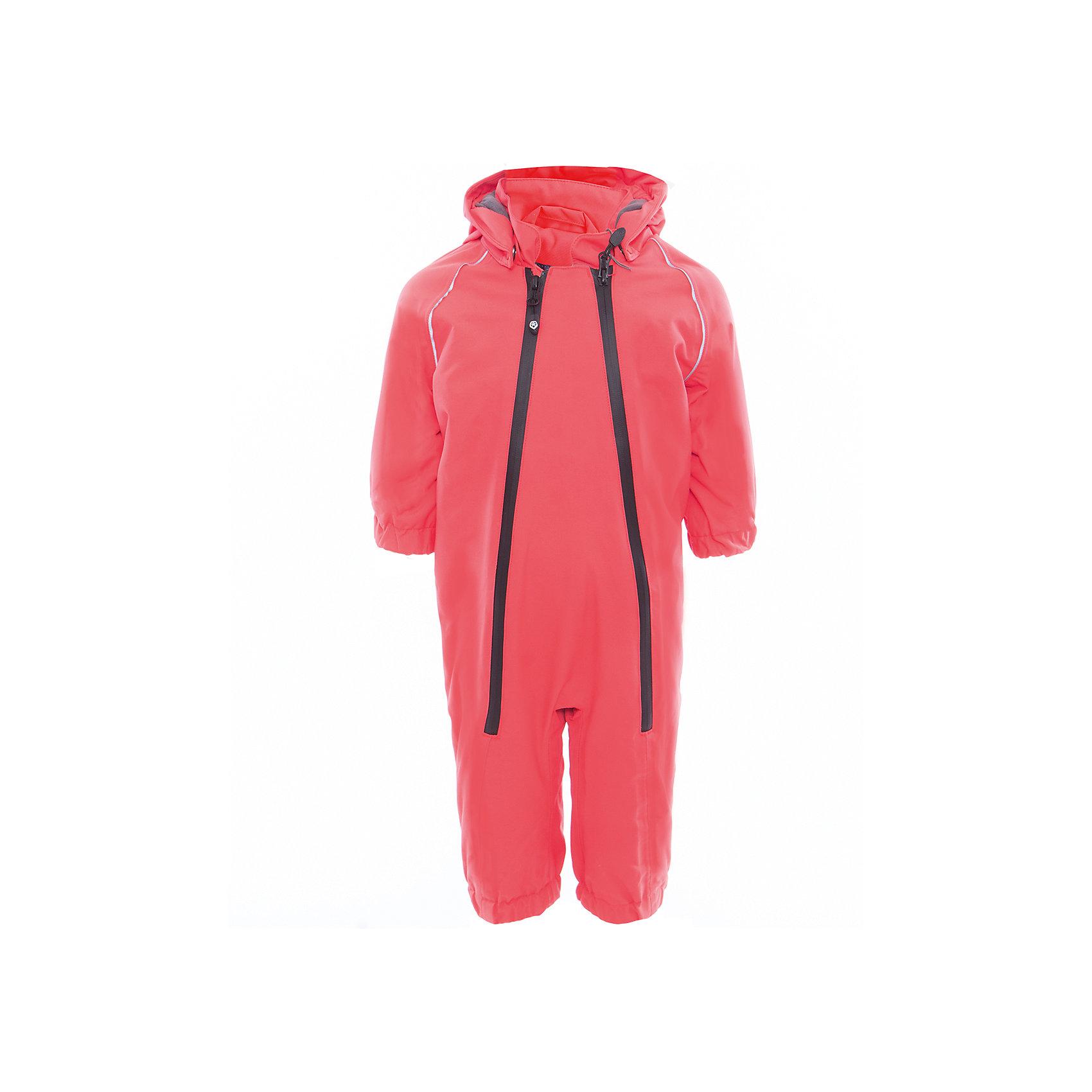 Комбинезон  Color KidsВерхняя одежда<br>Характеристики товара:<br><br>• цвет: красный<br>• состав: 100 % нейлон, Oxford<br>• подкладка: 100 % полиэстер, микро-флис<br>• без утеплителя<br>• температурный режим: от +7°до +15°С<br>• мембранная технология<br>• водонепроницаемость: 5000 мм<br>• воздухопроницаемость: 5000 мм<br>• ветрозащитный<br>• все швы проклеены<br>• светоотражающие детали<br>• эластичная талия<br>• съёмный капюшон на кнопках<br>• защита подбородка<br>• штрипки<br>• водонепроницаемые молнии<br>• комфортная посадка<br>• страна бренда: Дания<br><br>Такой удобный комбинезон сделана из непромокаемого легкого материала, поэтому отлично подойдет для дождливой погоды в межсезонье. Он комфортно сидит и обеспечивает ребенку необходимое удобство и тепло. Очень стильно смотрится.<br><br>Комбинезон от датского бренда Color Kids (Колор кидз) можно купить в нашем интернет-магазине.<br><br>Ширина мм: 356<br>Глубина мм: 10<br>Высота мм: 245<br>Вес г: 519<br>Цвет: красный<br>Возраст от месяцев: 24<br>Возраст до месяцев: 36<br>Пол: Унисекс<br>Возраст: Детский<br>Размер: 98,74,80,86,92<br>SKU: 5443120