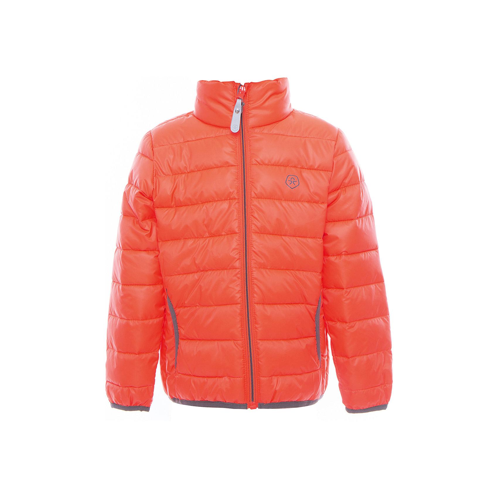 Куртка  Color KidsВерхняя одежда<br>Характеристики товара:<br><br>• цвет: оранжевый<br>• состав: 100 % полиэстер<br>• подкладка: 100 % полиэстер<br>• утеплитель: 160г/м синтепон<br>• температурный режим: от -5° С до +10°С<br>• светоотражающие детали<br>• застежка: молния<br>• защита подбородка<br>• два кармана<br>• логотип<br>• комфортная посадка<br>• страна бренда: Дания<br><br>Эта симпатичная и удобная куртка отлично подойдет для ношения в межсезонье. Она комфортно сидит и обеспечивает ребенку необходимое удобство. Очень стильно смотрится.<br><br>Куртку от датского бренда Color Kids (Колор кидз) можно купить в нашем интернет-магазине.<br><br>Ширина мм: 356<br>Глубина мм: 10<br>Высота мм: 245<br>Вес г: 519<br>Цвет: розовый<br>Возраст от месяцев: 36<br>Возраст до месяцев: 48<br>Пол: Унисекс<br>Возраст: Детский<br>Размер: 104,98,110,116,122,128,140,152,92<br>SKU: 5443156