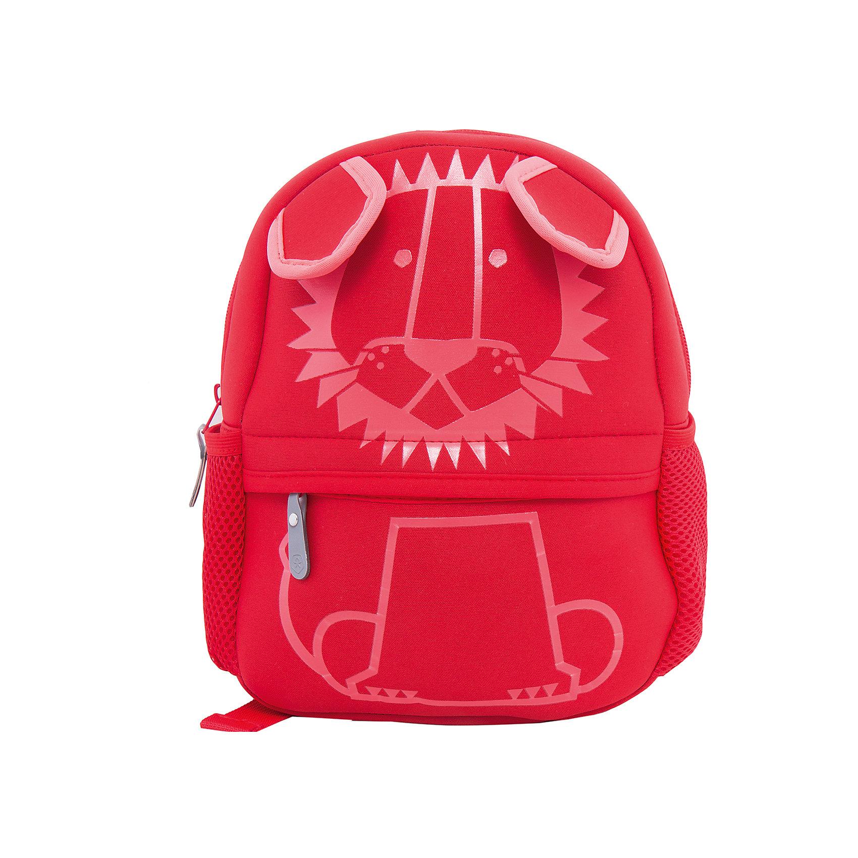 Рюкзак  Color KidsАксессуары<br>Характеристики товара:<br><br>• цвет: красный<br>• состав: 100 % полиэстер<br>• размер рюкзака: 30х23х10<br>• регулируемые лямки<br>• большое основное отделение на молнии<br>• маленький передний карман на молнии<br>• два боковых кармана-сетки<br>• светоотражающие детали<br>• логотип<br>• страна бренда: Дания<br><br>Такой удобный рюкзак сделан из мягкого и прочного неопрена, поэтому обеспечит ребенку удобство при ношении. Он комфортно сидит по спине и позволяет поместить в себя необходимые вещи. Очень стильно смотрится.<br><br>Рюкзак от датского бренда Color Kids (Колор кидз) можно купить в нашем интернет-магазине.<br><br>Ширина мм: 227<br>Глубина мм: 11<br>Высота мм: 226<br>Вес г: 350<br>Цвет: красный<br>Возраст от месяцев: 48<br>Возраст до месяцев: 144<br>Пол: Унисекс<br>Возраст: Детский<br>Размер: one size<br>SKU: 5443226
