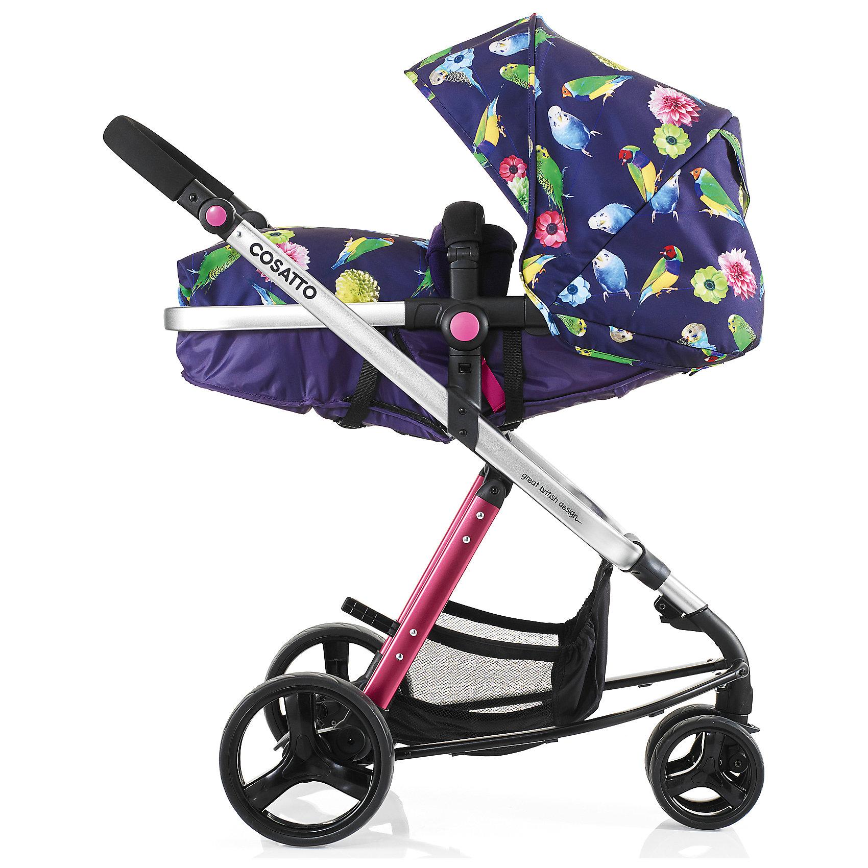 Коляска-трансформер Woop, Cosatto, EdenДля любителей функциональности коляски–трансформеры – настоящая находка. Люлька для малыша трансформируется в блок для прогулок. Все материалы, использованные при изготовлении аксессуара, безопасны и отвечают требованиям по качеству продукции.<br><br>Дополнительные характеристики: <br><br>цвет: Eden;<br>возраст: до 15 кг;<br>колеса с амортизацией;<br>спинка наклоняется в четырех позициях;<br>регулировка высоты ручки;<br>материал шасси: алюминий;<br>габариты: 97 х 62,5 см;<br>комплектация: блок для прогулок, люлька, подголовник, складывающиеся шасси, защита от дождя и солнца, регулируемая ручка, сумка для мамы, чехол для ножек, матрас.<br><br>Коляску-трансформер WOOP от компании Cosatto можно приобрести в нашем магазине.<br><br>Ширина мм: 1000<br>Глубина мм: 500<br>Высота мм: 330<br>Вес г: 15500<br>Возраст от месяцев: 0<br>Возраст до месяцев: 36<br>Пол: Унисекс<br>Возраст: Детский<br>SKU: 5444511