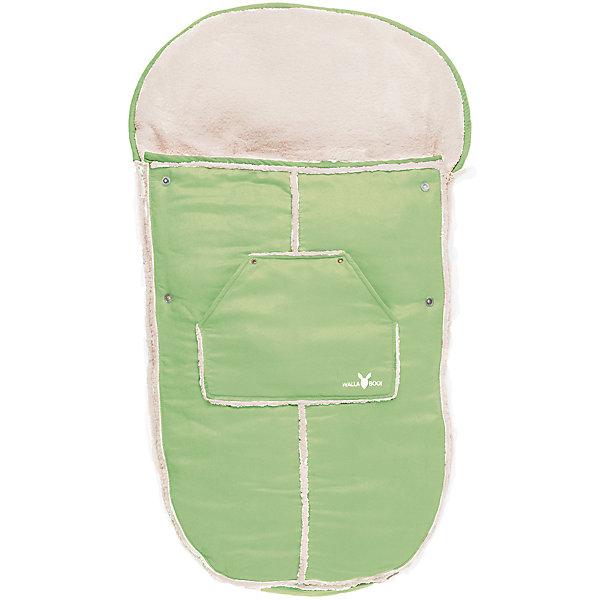 Конверт в коляску, Wallaboo, лаймДетские конверты<br>Характеристики:<br><br>• конверт предназначен для детей от рождения до 3-х лет;<br>• материал верха: микроволокнистая замша, наполнитель: синтепон 120 г;<br>• конверт используется для коляски, автокресла, санок;<br>• верхняя часть конверта отстегивается, конверт можно применять как мягкий вкладыш;<br>• конверт с капюшоном на резинке, крепится к капюшону коляски;<br>• имеются прорези для ремней безопасности;<br>• конверт застегивается на боковые молнии, которые расположены по всей длине муфты;<br>• конверт оснащен карманом для игрушек или аксессуаров;<br>• размер конверта-муфты: 100х48 см;<br>• размер упаковки: 60х50х9 см;<br>• вес: 900 г.<br><br>Конверт в коляску, Wallaboo, лайм можно купить в нашем интернет-магазине.<br><br>Ширина мм: 800<br>Глубина мм: 800<br>Высота мм: 50<br>Вес г: 500<br>Возраст от месяцев: 0<br>Возраст до месяцев: 12<br>Пол: Унисекс<br>Возраст: Детский<br>SKU: 5445053
