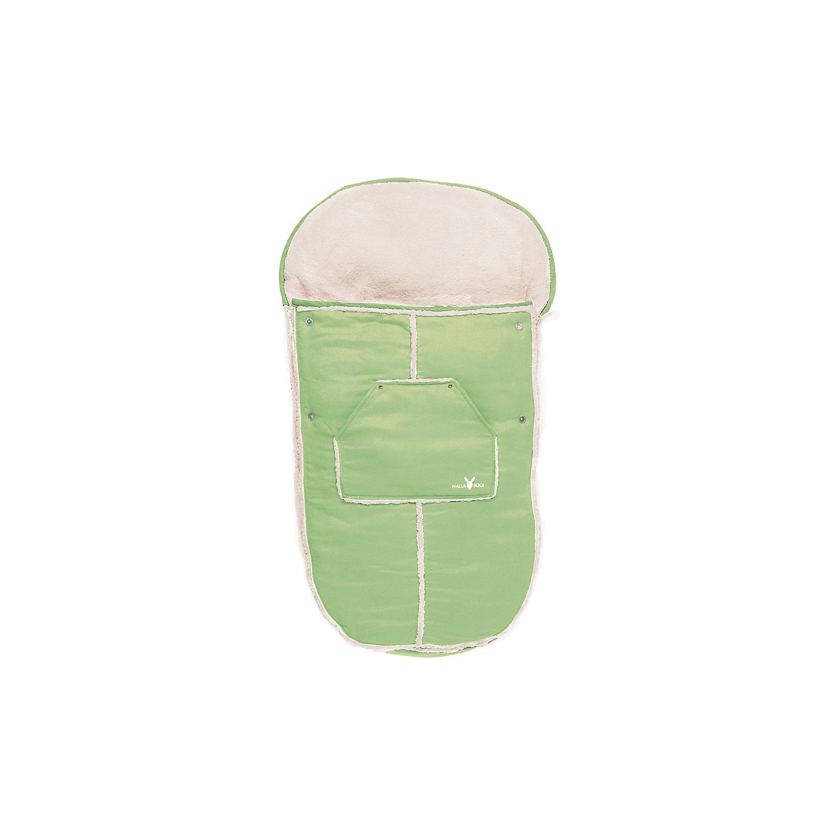 Конверт в коляску, Wallaboo, лаймДемисезонные конверты<br>Характеристики:<br><br>• конверт предназначен для детей от рождения до 3-х лет;<br>• материал верха: микроволокнистая замша, наполнитель: синтепон 120 г;<br>• конверт используется для коляски, автокресла, санок;<br>• верхняя часть конверта отстегивается, конверт можно применять как мягкий вкладыш;<br>• конверт с капюшоном на резинке, крепится к капюшону коляски;<br>• имеются прорези для ремней безопасности;<br>• конверт застегивается на боковые молнии, которые расположены по всей длине муфты;<br>• конверт оснащен карманом для игрушек или аксессуаров;<br>• размер конверта-муфты: 100х48 см;<br>• размер упаковки: 60х50х9 см;<br>• вес: 900 г.<br><br>Конверт в коляску, Wallaboo, лайм можно купить в нашем интернет-магазине.<br><br>Ширина мм: 800<br>Глубина мм: 800<br>Высота мм: 50<br>Вес г: 500<br>Возраст от месяцев: 0<br>Возраст до месяцев: 12<br>Пол: Унисекс<br>Возраст: Детский<br>SKU: 5445053