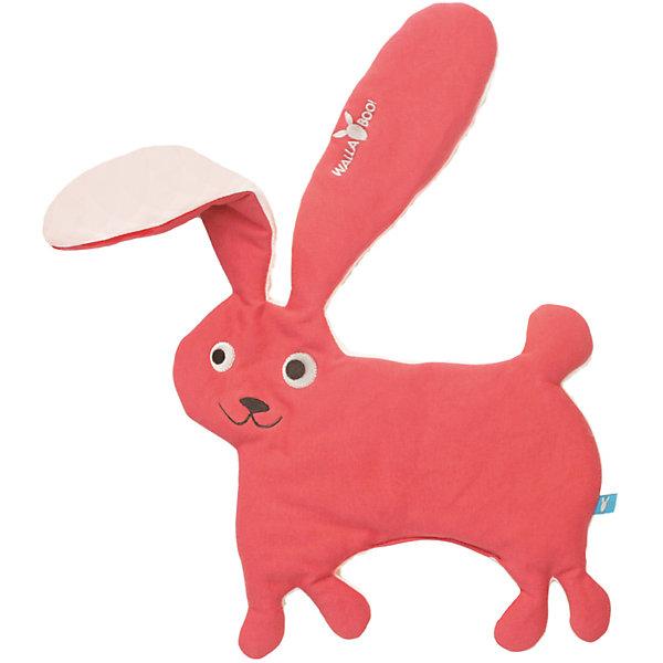 Комфортер-игрушка заяц, Wallaboo, красный,Комфортеры<br>Характеристики:<br><br>• особое плетение нитей дает ощущение прохлады;<br>• ткань игрушки: муслин;<br>• после стирки ткань становится мягче и приятнее на ощупь;<br>• комфортер стирается при температуре 30 градусов;<br>• игрушку можно использовать на этапе прорезывания зубов при повышенном слюноотделении;<br>• вес игрушки: 250 г.<br><br>Комфортер-игрушка заяц, Wallaboo, красный можно купить в нашем интернет-магазине.<br>Ширина мм: 800; Глубина мм: 800; Высота мм: 50; Вес г: 250; Возраст от месяцев: 0; Возраст до месяцев: 12; Пол: Унисекс; Возраст: Детский; SKU: 5445060;