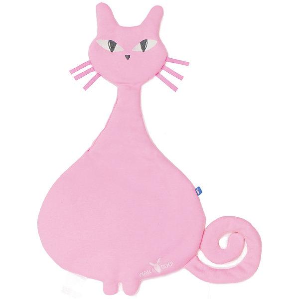 Комфортер-игрушка кошка, Wallaboo, розовый,Комфортеры<br>Характеристики:<br><br>• особое плетение нитей дает ощущение прохлады;<br>• ткань игрушки: муслин;<br>• после стирки ткань становится мягче и приятнее на ощупь;<br>• комфортер стирается при температуре 30 градусов;<br>• игрушку можно использовать на этапе прорезывания зубов при повышенном слюноотделении;<br>• вес игрушки: 250 г.<br><br>Комфортер-игрушка кошка, Wallaboo, розовый можно купить в нашем интернет-магазине.<br><br>Ширина мм: 800<br>Глубина мм: 800<br>Высота мм: 50<br>Вес г: 250<br>Возраст от месяцев: 0<br>Возраст до месяцев: 12<br>Пол: Унисекс<br>Возраст: Детский<br>SKU: 5445061