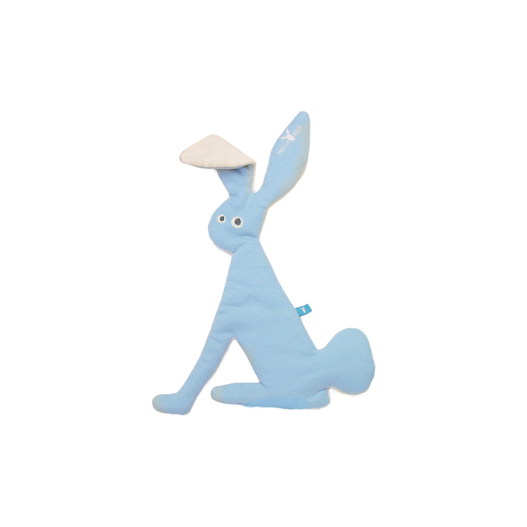 Комфортер-игрушка заяц, Wallaboo, голубой,Комфортеры<br>Характеристики:<br><br>• особое плетение нитей дает ощущение прохлады;<br>• ткань игрушки: муслин;<br>• после стирки ткань становится мягче и приятнее на ощупь;<br>• комфортер стирается при температуре 30 градусов;<br>• игрушку можно использовать на этапе прорезывания зубов при повышенном слюноотделении;<br>• вес игрушки: 250 г.<br><br>Комфортер-игрушка заяц, Wallaboo, голубой можно купить в нашем интернет-магазине.<br><br>Ширина мм: 800<br>Глубина мм: 800<br>Высота мм: 50<br>Вес г: 250<br>Возраст от месяцев: 0<br>Возраст до месяцев: 12<br>Пол: Унисекс<br>Возраст: Детский<br>SKU: 5445062