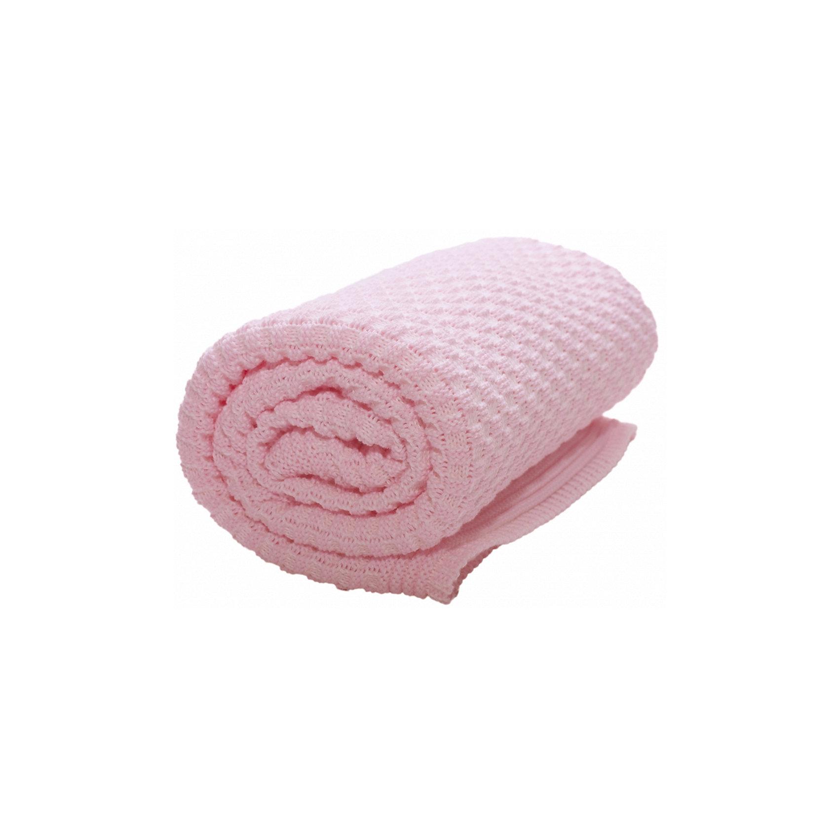 Плед хб вязаный, 70х90, Wallaboo, нежно-розовыйОдеяла, пледы<br>Характеристики:<br><br>• объемная ажурная вязка;<br>• плед сохраняет тепло, исключает перегрев малыша;<br>• допустима ручная стирка при температуре 30 градусов;<br>• материал: 100% шесть мериноса;<br>• размер пледа: 70х90 см;<br>• размер упаковки: 25х23х4 см;<br>• вес: 350 г.<br><br>Вязаный плед Wallaboo нежно окутывает малыша, сохраняет тепло, создает мягкое прикосновение. Плед изготовлен из шерсти мериноса, кожа ребенка под таким пледом остается сухой, малыш не потеет. Ажурная вязка придает пледу нарядный вид.<br><br>Плед хб вязаный, 70х90, Wallaboo, нежно-розовый можно купить в нашем интернет-магазине.<br><br>Ширина мм: 800<br>Глубина мм: 800<br>Высота мм: 50<br>Вес г: 500<br>Возраст от месяцев: 0<br>Возраст до месяцев: 12<br>Пол: Унисекс<br>Возраст: Детский<br>SKU: 5445068