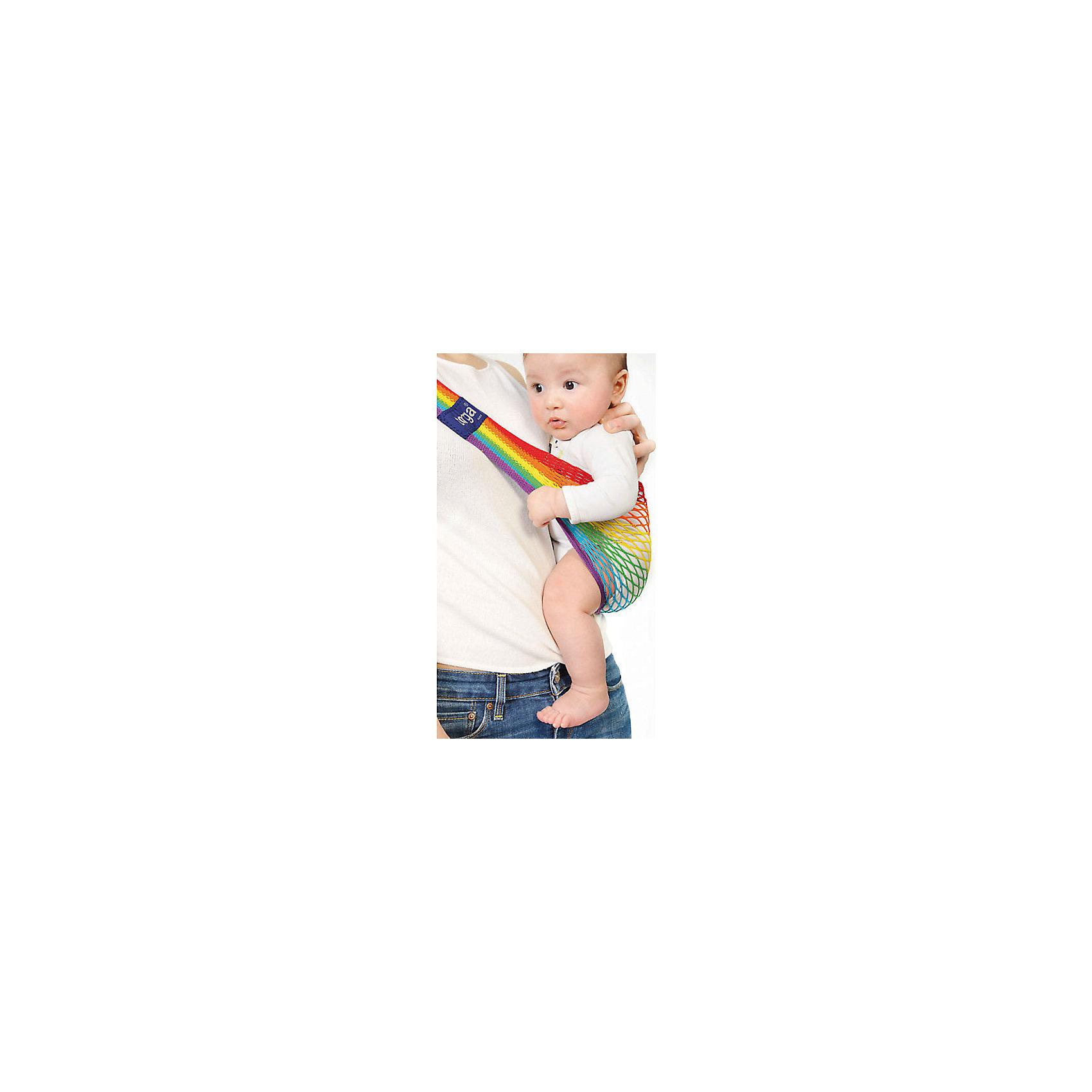Слинг на бедро, Тонга, Filt, rainbow/радугаСлинги и рюкзаки-переноски<br>Характеристики:<br><br>• разработан совместно с врачами-ортопедами;<br>• обеспечивает оптимальную поддержку ребенка;<br>• легко надевается;<br>• основное положение: на бедре;<br>• подходит для автоматической стирки при температуре 30 градусов;<br>• регулируемая длина;<br>• цвет: радуга;<br>• материал: хлопок;<br>• возраст ребенка: 6 месяцев-2 года (до 15 кг);<br>• размер слинга: 70х12х15 см;<br>• размер упаковки: 24х12х2 см;<br>• вес: 140 грамм;<br>• страна бренда: Франция.<br><br>Слинг Тонга отлично подойдет для активных мам. Уникальное переплетение из натурального хлопка позволит вам комфортно передвигаться с малышом в любое время года. Слинг окрашен устойчивыми нетоксичными красителями в соответствии с нормами OEKO-TEX. Сетчатое плетение обеспечивает необходимую упругость, а хлопок гарантирует приятную мягкость для ребенка.<br><br>Размер слинга можно регулировать для удобства родителя. Лишнюю часть полотна можно намотать на большую пряжку. Пряжку следует располагать под ключицей или на спине, чтобы избежать неприятного давления на плечо. Центральная часть сделана более широкой для правильного расположения ребенка. Ножки крохи будут разведены в форме  «лягушки», что особенно важно для развития тазобедренных суставов.<br><br>Набедренный слинг подходит для совместного купания  с ребенком. После использования он быстро высыхает, сохраняя прежнюю форму. В сложенном виде Тонга очень компактен, благодаря чему вы всегда сможете  взять его с собой в путешествие или поездку.<br><br>Слинг Тонга подходит для малышей с 5-6-и месяцев до 1,5-2-х лет, весом до 15-и килограммов. Важно, чтобы ребенок умел самостоятельно держать голову и спинку. Размер слинга в разложенном виде: 70х12х15 сантиметров.<br><br>Слинг на бедро, Тонга, Filt (Филт), rainbow/радуга можно купить в нашем интернет-магазине.<br><br>Ширина мм: 800<br>Глубина мм: 800<br>Высота мм: 50<br>Вес г: 500<br>Возраст от месяцев: 0<br>Возраст до меся