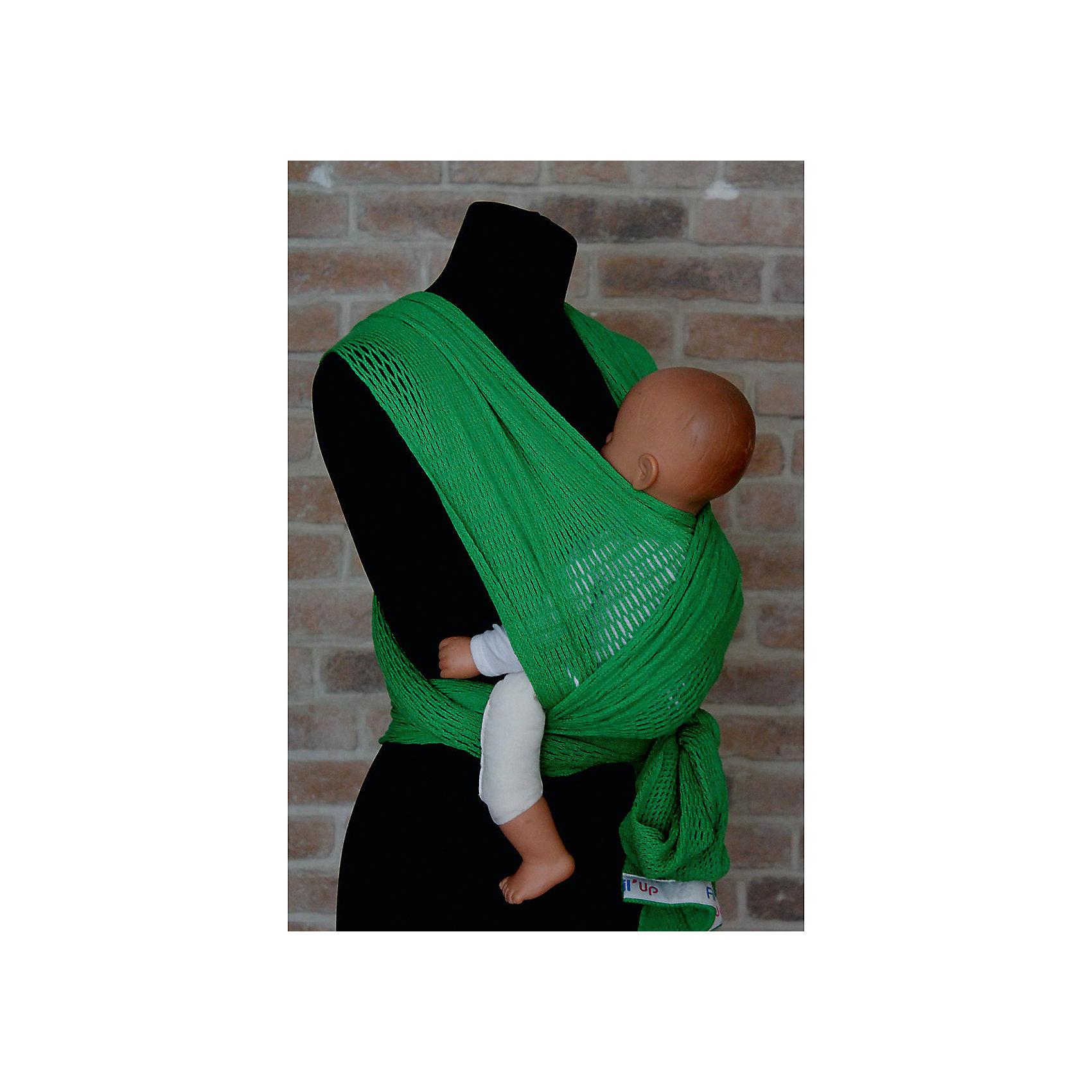Слинг-шарф из хлопка плетеный размер l-xl, Филап, Filt, зеленыйСлинги и рюкзаки-переноски<br>Характеристики:<br><br>• разработан совместно с врачами-ортопедами;<br>• обеспечивает оптимальную поддержку ребенка;<br>• легко наматывается;<br>• два способа намотки: «простой крест» и «двойной крест»;<br>• равномерно распределяет нагрузку на спину;<br>• основное положение: лицом к маме;<br>• подходит для автоматической стирки при температуре 30 градусов;<br>• сумочка в комплекте;<br>• цвет: зеленый;<br>• материал: хлопок;<br>• возраст ребенка: 3 месяца-2 года (до 15 кг);<br>• размер слинга: 4,8х0,5 м;<br>• размер упаковки: 24х26х7 см;<br>• вес: 430 грамм;<br>• страна бренда: Франция.<br><br>Слинг-шарф FilUp - прекрасный вариант для любого сезона. Главная особенность модели - сетчатое плетение из натурального хлопка. Такой вид полотна не позволит ребенку перегреться за счет отсутствия дополнительного слоя ткани, свойственного для обычных слингов.<br><br>Возможны три положения ребенка в слинге: лицом к маме, на боку и за спиной. Полотно слинг-шарфа легко растягивается и обладает необходимой упругостью для правильной посадки ребенка.<br><br>Концы слинга сделаны более узкими, чтобы вы могли убрать лишнюю ткань. Средняя, более широкая часть поддерживает ножки ребенка в позе «лягушки», что немаловажно для правильного развития тазобедренных суставов. <br><br>Слинг-шарф подходит для ручной и автоматической стирки при температуре 30 градусов.Длина полотна - 4,8 метра. Ширина полотна - 0,5 метра. Подходит для детей от 3-4-х месяцев до 1,5-2-х лет (весом до 15 килограммов).В комплект входит сумочка-авоська, которая подойдет для бутылочек, салфеток и прочих необходимых предметов.<br><br>Слинг-шарф из хлопка плетеный размер l-xl, Филап, Filt (Филт), зеленый можно купить в нашем интернет-магазине.<br><br>Ширина мм: 800<br>Глубина мм: 800<br>Высота мм: 50<br>Вес г: 500<br>Возраст от месяцев: 0<br>Возраст до месяцев: 12<br>Пол: Унисекс<br>Возраст: Детский<br>SKU: 5445095