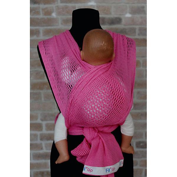 Слинг-шарф из хлопка плетеный размер l-xl, Филап, Filt, розовыйСлинги<br>Характеристики:<br><br>• разработан совместно с врачами-ортопедами;<br>• обеспечивает оптимальную поддержку ребенка;<br>• легко наматывается;<br>• два способа намотки: «простой крест» и «двойной крест»;<br>• равномерно распределяет нагрузку на спину;<br>• основное положение: лицом к маме;<br>• подходит для автоматической стирки при температуре 30 градусов;<br>• сумочка в комплекте;<br>• цвет: розовый;<br>• материал: хлопок;<br>• возраст ребенка: 3 месяца-2 года (до 15 кг);<br>• размер слинга: 4,8х0,5 м;<br>• размер упаковки: 24х26х7 см;<br>• вес: 430 грамм;<br>• страна бренда: Франция.<br><br>Слинг-шарф FilUp - прекрасный вариант для любого сезона. Главная особенность модели - сетчатое плетение из натурального хлопка. Такой вид полотна не позволит ребенку перегреться за счет отсутствия дополнительного слоя ткани, свойственного для обычных слингов.<br><br>Возможны три положения ребенка в слинге: лицом к маме, на боку и за спиной. Полотно слинг-шарфа легко растягивается и обладает необходимой упругостью для правильной посадки ребенка.<br><br>Концы слинга сделаны более узкими, чтобы вы могли убрать лишнюю ткань. Средняя, более широкая часть поддерживает ножки ребенка в позе «лягушки», что немаловажно для правильного развития тазобедренных суставов. <br><br>Слинг-шарф подходит для ручной и автоматической стирки при температуре 30 градусов. Длина полотна - 4,8 метра. Ширина полотна - 0,5 метра. Подходит для детей от 3-4-х месяцев до 1,5-2-х лет (весом до 15 килограммов). В комплект входит сумочка-авоська, которая подойдет для бутылочек, салфеток и прочих необходимых предметов.<br><br>Слинг-шарф из хлопка плетеный размер l-xl, Филап, Filt (Филт), розовый можно купить в нашем интернет-магазине.<br><br>Ширина мм: 800<br>Глубина мм: 800<br>Высота мм: 50<br>Вес г: 500<br>Возраст от месяцев: 0<br>Возраст до месяцев: 12<br>Пол: Женский<br>Возраст: Детский<br>SKU: 5445099