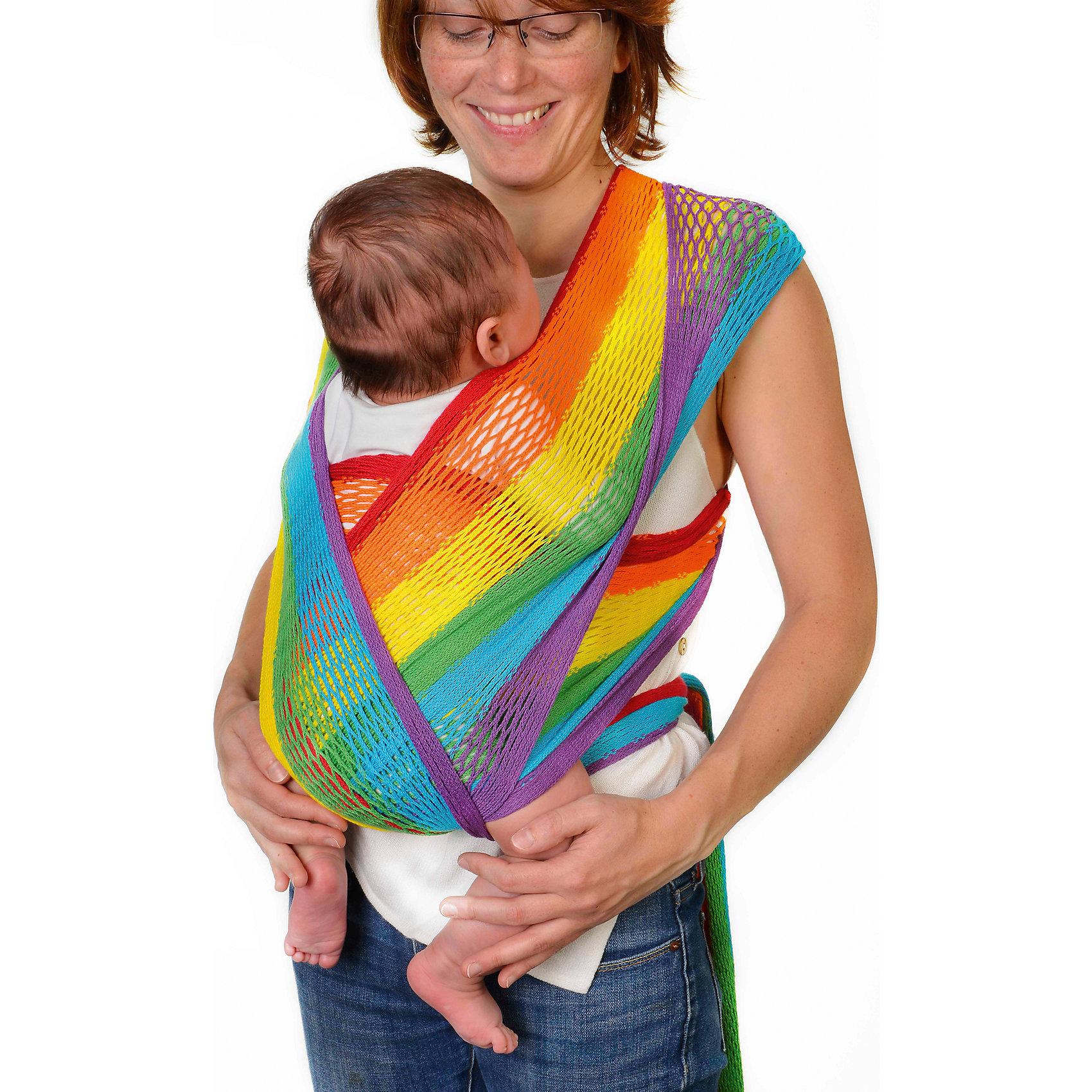 Слинг-шарф из хлопка плетеный размер l-xl, Филап, Filt, радугаСлинги и рюкзаки-переноски<br>Характеристики:<br><br>• разработан совместно с врачами-ортопедами;<br>• обеспечивает оптимальную поддержку ребенка;<br>• легко наматывается;<br>• два способа намотки: «простой крест» и «двойной крест»;<br>• равномерно распределяет нагрузку на спину;<br>• основное положение: лицом к маме;<br>• подходит для автоматической стирки при температуре 30 градусов;<br>• сумочка в комплекте;<br>• цвет: радуга;<br>• материал: хлопок;<br>• возраст ребенка: 3 месяца-2 года (до 15 кг);<br>• размер слинга: 4,8х0,5 м;<br>• размер упаковки: 24х26х7 см;<br>• вес: 430 грамм;<br>• страна бренда: Франция.<br><br>Слинг-шарф FilUp - прекрасный вариант для любого сезона. Главная особенность модели - сетчатое плетение из натурального хлопка. Такой вид полотна не позволит ребенку перегреться за счет отсутствия дополнительного слоя ткани, свойственного для обычных слингов.<br><br>Возможны три положения ребенка в слинге: лицом к маме, на боку и за спиной. Полотно слинг-шарфа легко растягивается и обладает необходимой упругостью для правильной посадки ребенка.<br><br>Концы слинга сделаны более узкими, чтобы вы могли убрать лишнюю ткань. Средняя, более широкая часть поддерживает ножки ребенка в позе «лягушки», что немаловажно для правильного развития тазобедренных суставов. <br><br>Слинг-шарф подходит для ручной и автоматической стирки при температуре 30 градусов.Длина полотна - 4,8 метра. Ширина полотна - 0,5 метра. Подходит для детей от 3-4-х месяцев до 1,5-2-х лет (весом до 15 килограммов).В комплект входит сумочка-авоська, которая подойдет для бутылочек, салфеток и прочих необходимых предметов.<br><br>Слинг-шарф из хлопка плетеный размер l-xl, Филап, Filt (Филт), радуга можно купить в нашем интернет-магазине.<br><br>Ширина мм: 800<br>Глубина мм: 800<br>Высота мм: 50<br>Вес г: 500<br>Возраст от месяцев: 0<br>Возраст до месяцев: 12<br>Пол: Унисекс<br>Возраст: Детский<br>SKU: 5445105