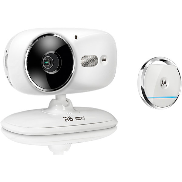 Цифровая видеокамера Motorola Focus 86-Т, белыйВидеоняни<br>Характеристики:<br><br>• датчик движения;<br>• датчик комнатной температуры;<br>• ИК ночной режим;<br>• радиус действия: до 300 м;<br>• двусторонняя связь;<br>• встроенные колыбельные мелодии -5 песен;<br>• возможность регулировать положение камера, угла наклона;<br>• цифровое масштабирование;<br>• камера работает от сети 220В;<br>• видеокамера устанавливается на столе или тумбочке;<br>• размер упаковки: 25х18х8 см;<br>• вес: 390 г.<br><br>Технические характеристики:<br><br>Камера Стандарт FHSS 2,4GHz, Стандарт Wifi (802.11 b/g/n)<br>Матрица изображения: цветная, CMOS 1 Мпикс<br>Объектив: f 2,3мм; f 2,4<br>Инфракрасный светодиод: 7 шт.<br>Адаптер: Ten Pao International Ltd.<br>Вход: 100–240 В, 50/60 Гц 300 мА;<br>Выход: 5В, 1000 мА<br>Датчик положения в пространстве<br>Частота 2,4 ГГц, радиоволны<br>Дальность передачи До 160 футов (50 метров)<br>Питание Батарея CR2032<br><br>Цифровую видеокамеру Motorola Focus 86-B, белый можно купить в нашем интернет-магазине.<br>Ширина мм: 230; Глубина мм: 160; Высота мм: 84; Вес г: 400; Возраст от месяцев: 4; Возраст до месяцев: 36; Пол: Унисекс; Возраст: Детский; SKU: 5445334;