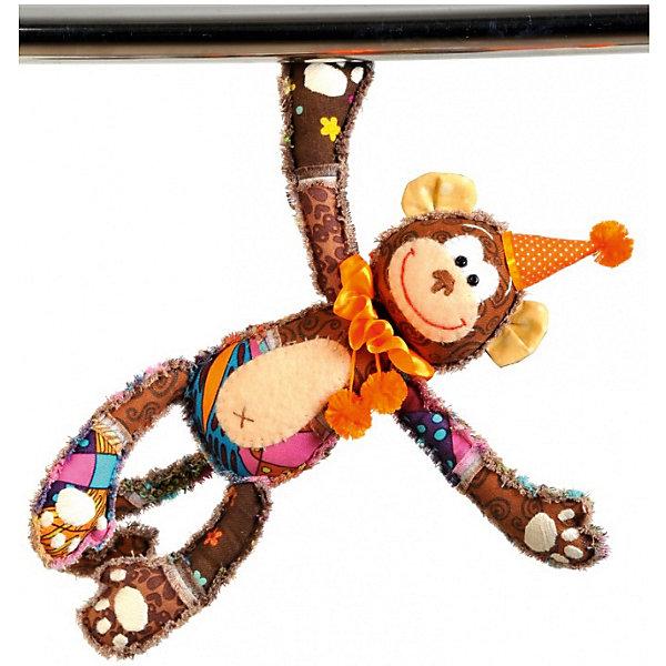Набор для изготовления  игрушки Обезьянка Анфиса, ПерловкаШитьё<br>Набор для изготовления игрушки Обезьянка Анфиса, Перловка<br><br>Характеристики: <br><br>• Размер игрушки: 30,5<br>• Материал: Хлопок, Фетр, Металл, Атлас<br>• В комплекте: Ткань, нитки, пуговицы, магниты, проволока, кнопка, листы с выкройками, инструкция<br>• Вес: 100г<br><br>Этот набор для творчества позволит вашему ребенку создать очаровательную игрушку. Ткани в комплекте выполнены в мягких пастельных тонах и состоят из натурального хлопка. В составе имеется подробная инструкция и все необходимое для декорирования фигурки. <br><br>Особенностями данного комплекта являются магниты, которые вставляются в ручки и ножки игрушки. Это позволяет крепить игрушку на любую металлическую поверхность.<br><br>Набор для изготовления игрушки Обезьянка Анфиса, Перловка можно купить в нашем интернет-магазине.<br><br>Ширина мм: 150<br>Глубина мм: 10<br>Высота мм: 275<br>Вес г: 100<br>Возраст от месяцев: 60<br>Возраст до месяцев: 2147483647<br>Пол: Женский<br>Возраст: Детский<br>SKU: 5445437