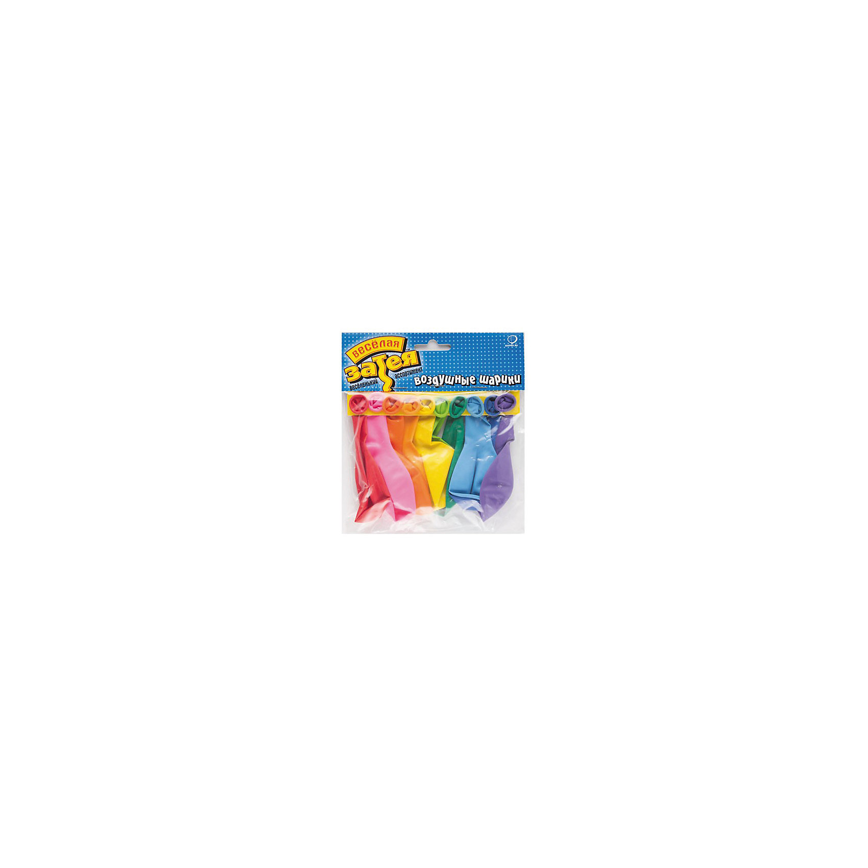 Набор шаров, цвет Пастель,  25см., 10шт., в асс-те, Веселая ЗатеяНабор шаров, цвет Пастель, 25см., 10шт., в асс-те, Веселая Затея<br><br>Характеристики: <br><br>• Цвет: пастель<br>• Размер: 25см<br>• В комплекте: 10 штук<br>• В упаковке цвета в ассортименте<br><br>Оригинальность и необычность этих шариков в том, что они не стандартных цветов, а с особым пастельным оттенком. В наборе содержатся десять шариков, пяти цветов. Диаметр надутого шарика составляет примерно 25 см. Эти необычные шарики можно использовать для украшения комнаты на праздник, с их помощью легко создать праздничную атмосферу и порадовать детей и даже взрослых. <br><br>Набор шаров, цвет Пастель, 25см., 10шт., в асс-те, Веселая Затея можно купить в нашем интернет-магазине.<br><br>Ширина мм: 230<br>Глубина мм: 250<br>Высота мм: 70<br>Вес г: 30<br>Возраст от месяцев: 36<br>Возраст до месяцев: 2147483647<br>Пол: Унисекс<br>Возраст: Детский<br>SKU: 5445450
